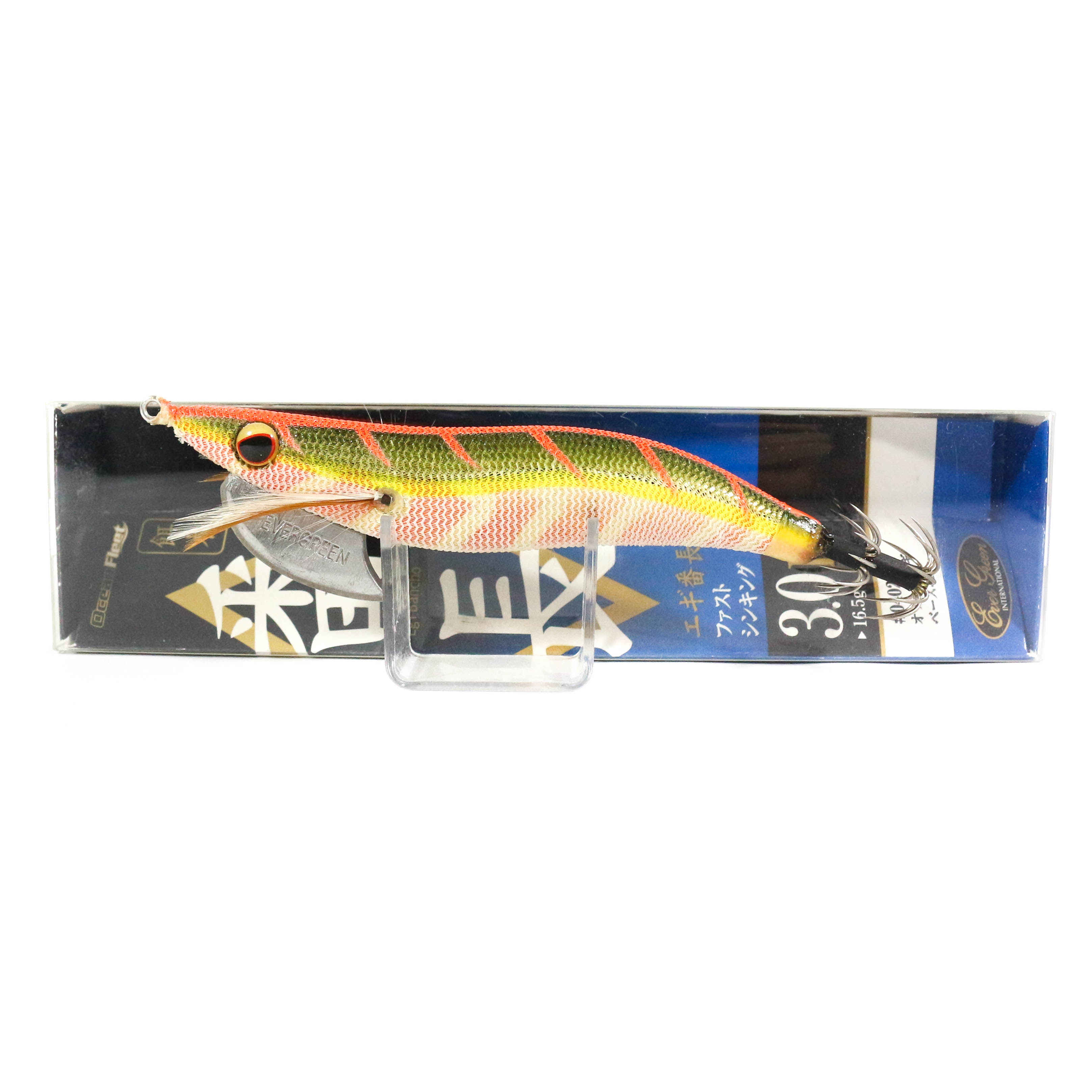 Evergreen Ocean Fleet Custom Squid Jig Lure 3.0D 0402G (3405)