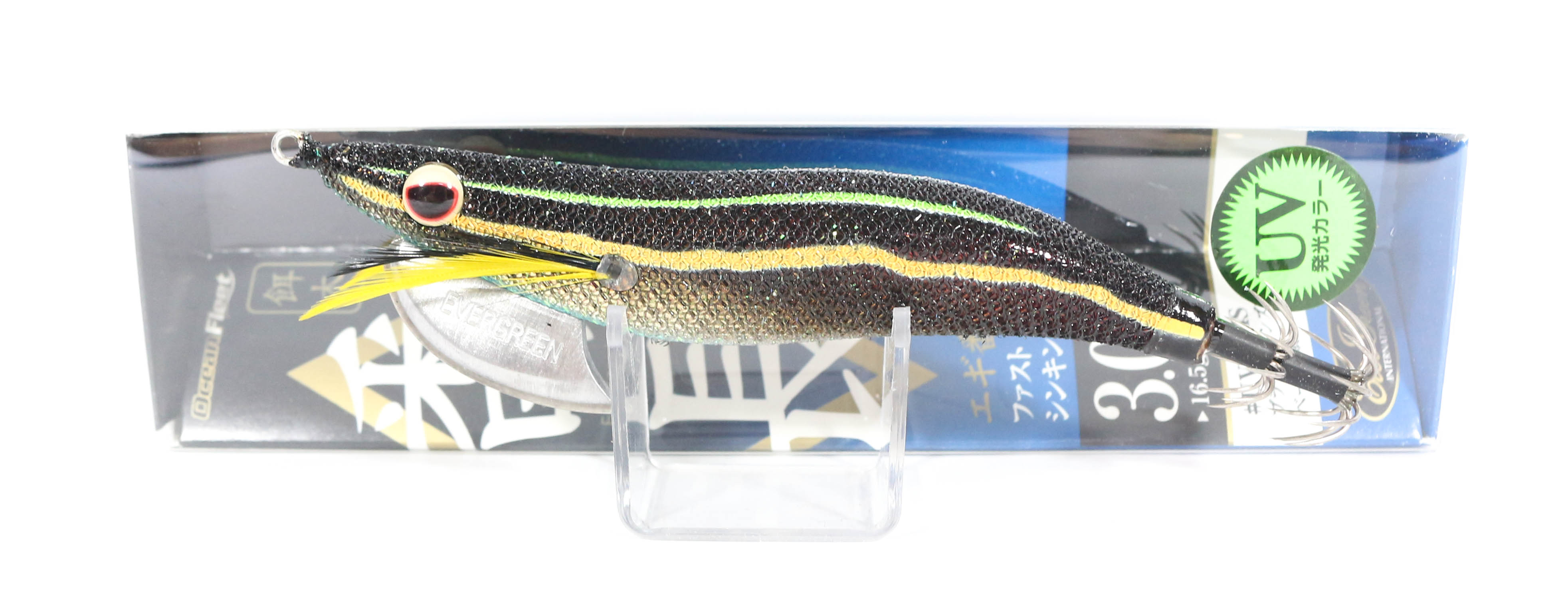 Evergreen Ocean Fleet Custom Squid Jig Lure 3.0D UV0604S (0501)