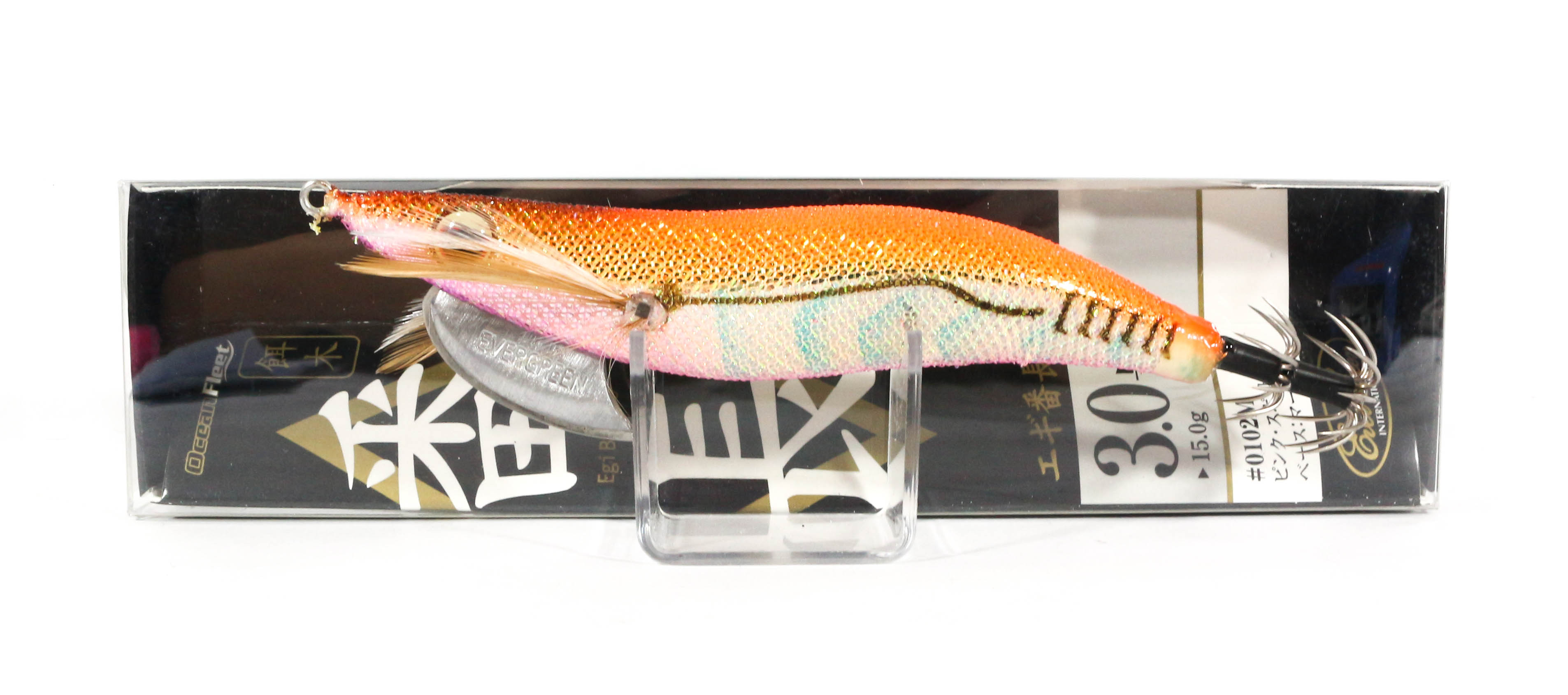 Evergreen Ocean Fleet Custom Squid Jig Lure 3.0 0204S (9019)