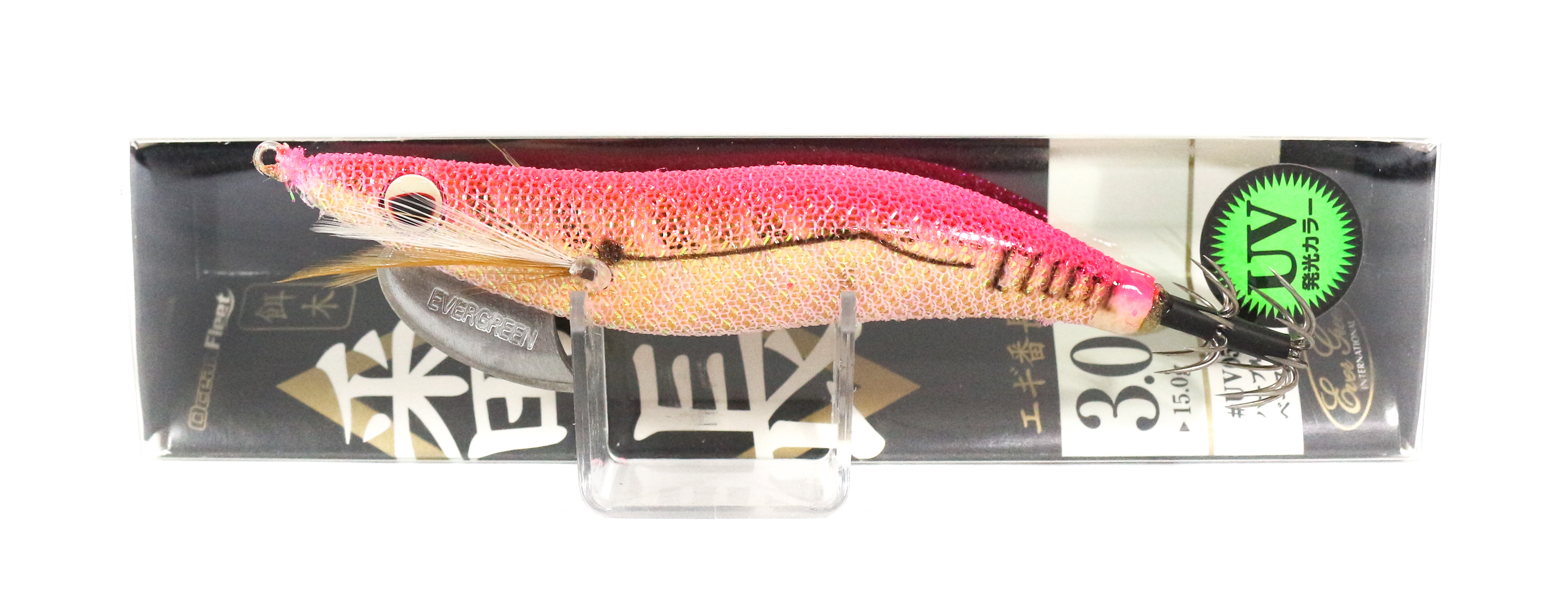 Evergreen Ocean Fleet Custom Squid Jig Lure 3.0 UV0106G (9117)