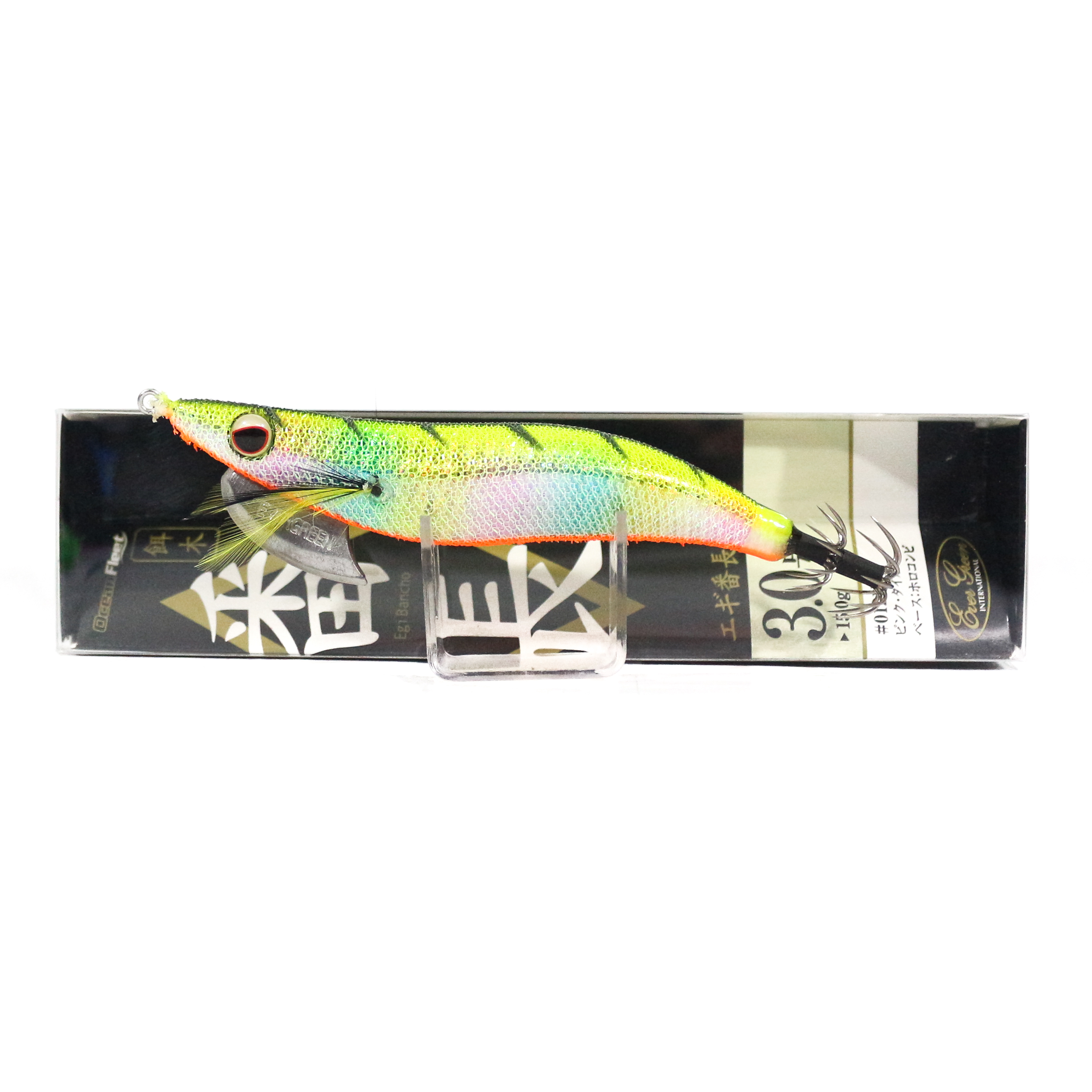 Evergreen Ocean Fleet Custom Squid Jig Lure 3.0 UV0802HM (0020)