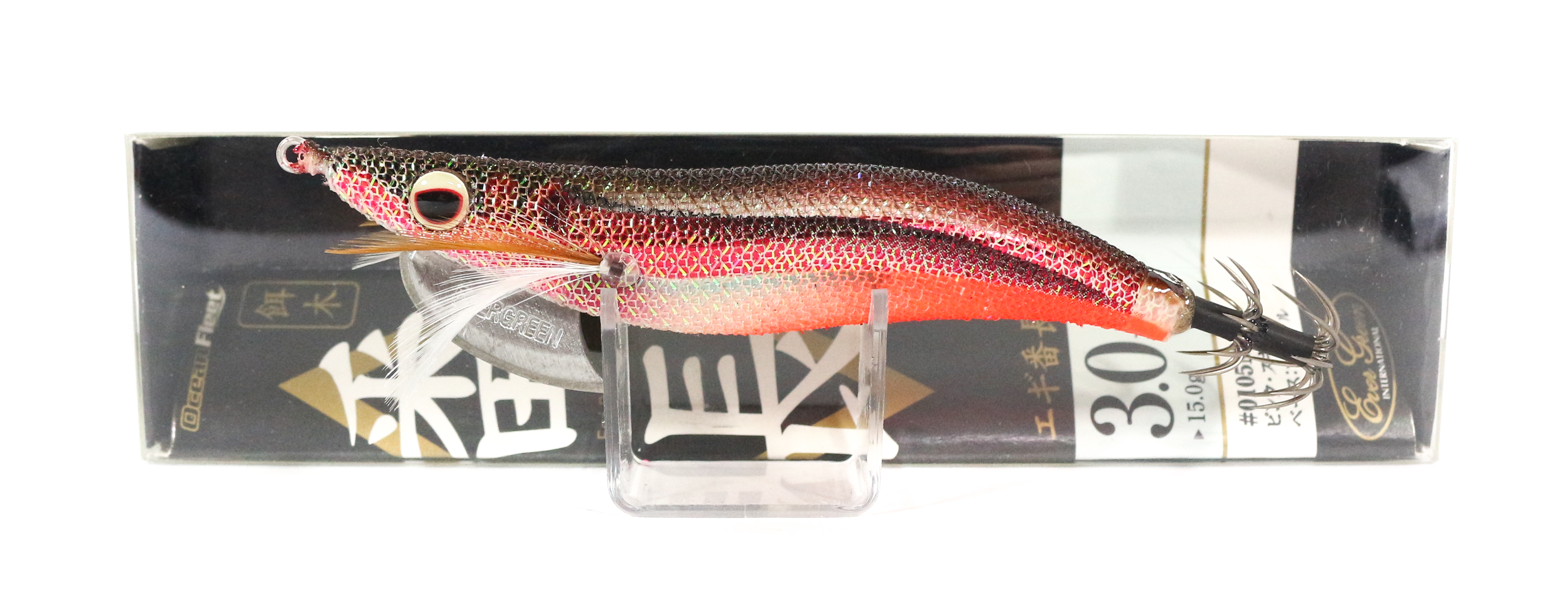 Evergreen Ocean Fleet Custom Squid Jig Lure 3.0 0305R (8283)