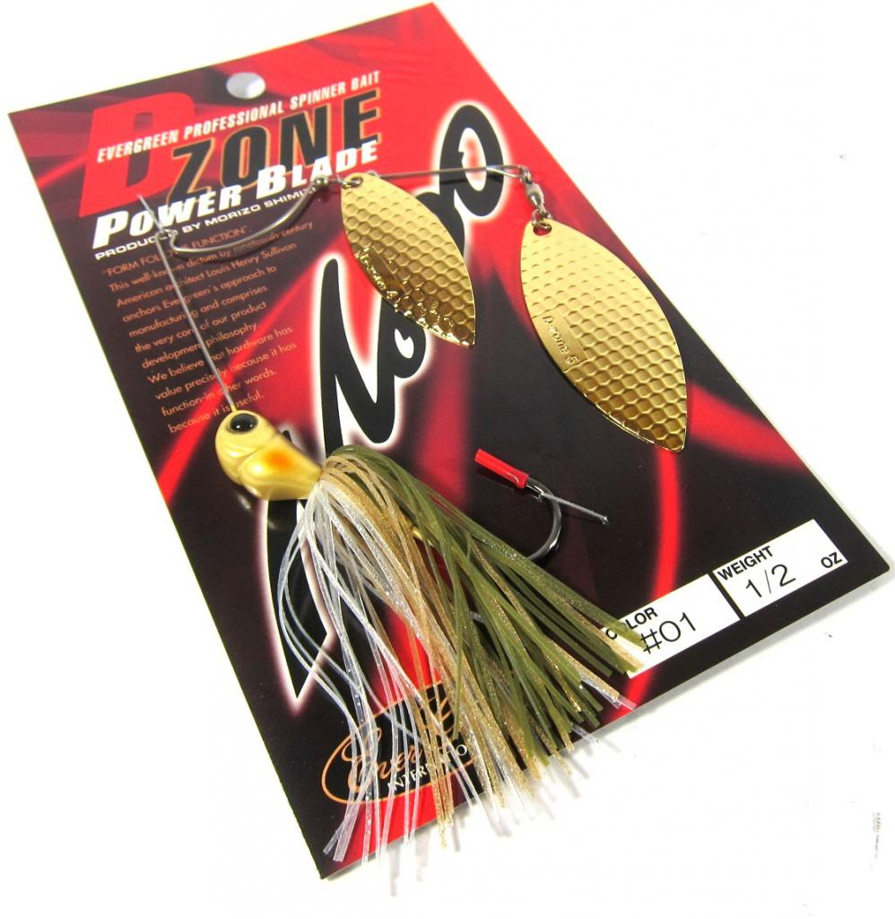 Evergreen Spinner Bait D-Zone Power Blade DW 1/2 oz 01 (6766)