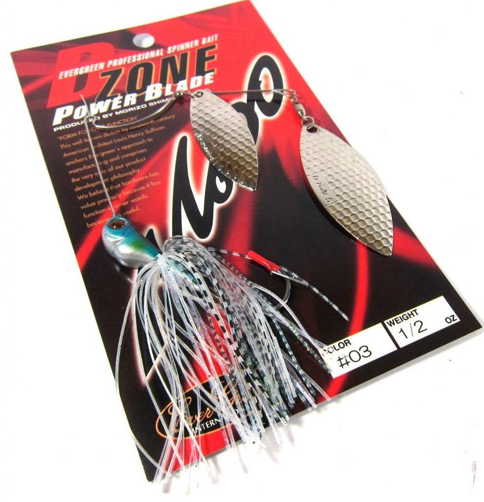 Evergreen Spinner Bait D-Zone Power Blade DW 1/2 oz 03 (6773)