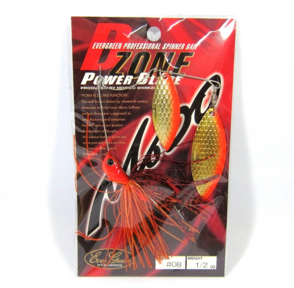 Evergreen Spinner Bait D-Zone Power Blade DW 1/2 oz 08 (6810)