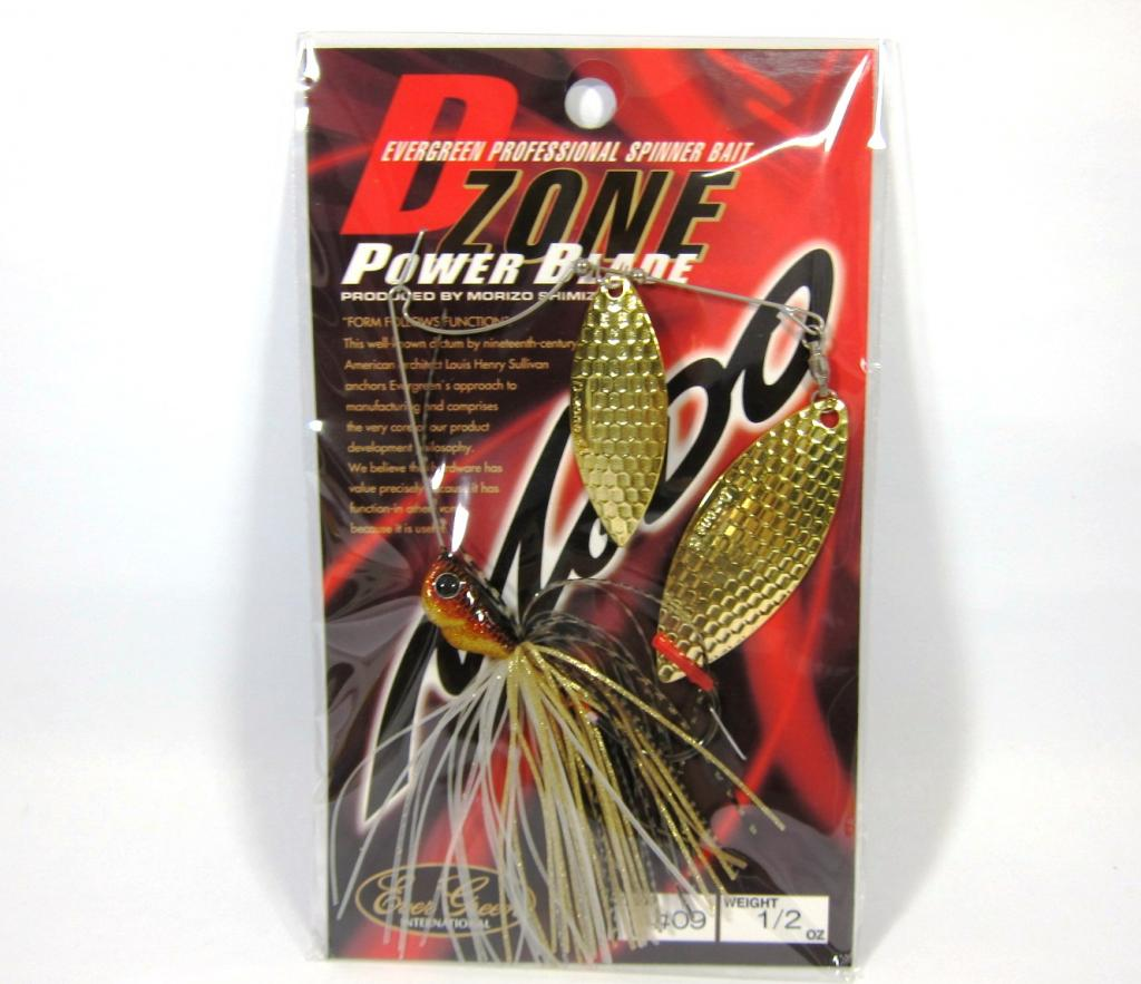 Evergreen Spinner Bait D-Zone Power Blade DW 1/2 oz 09 (6827)