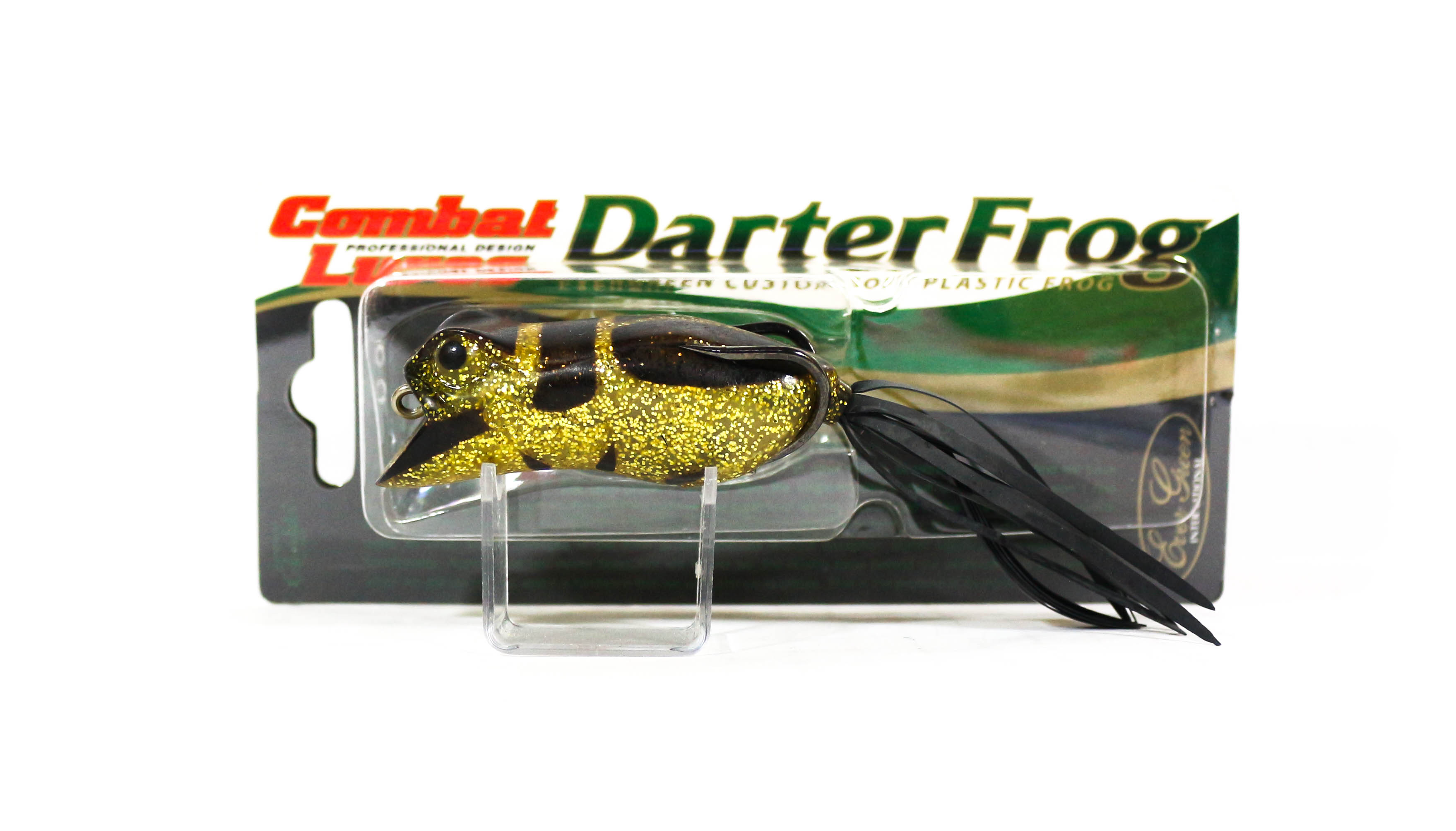 Sale Evergreen Darter Frog Soft Plastic Floating Lure 220 (9859)
