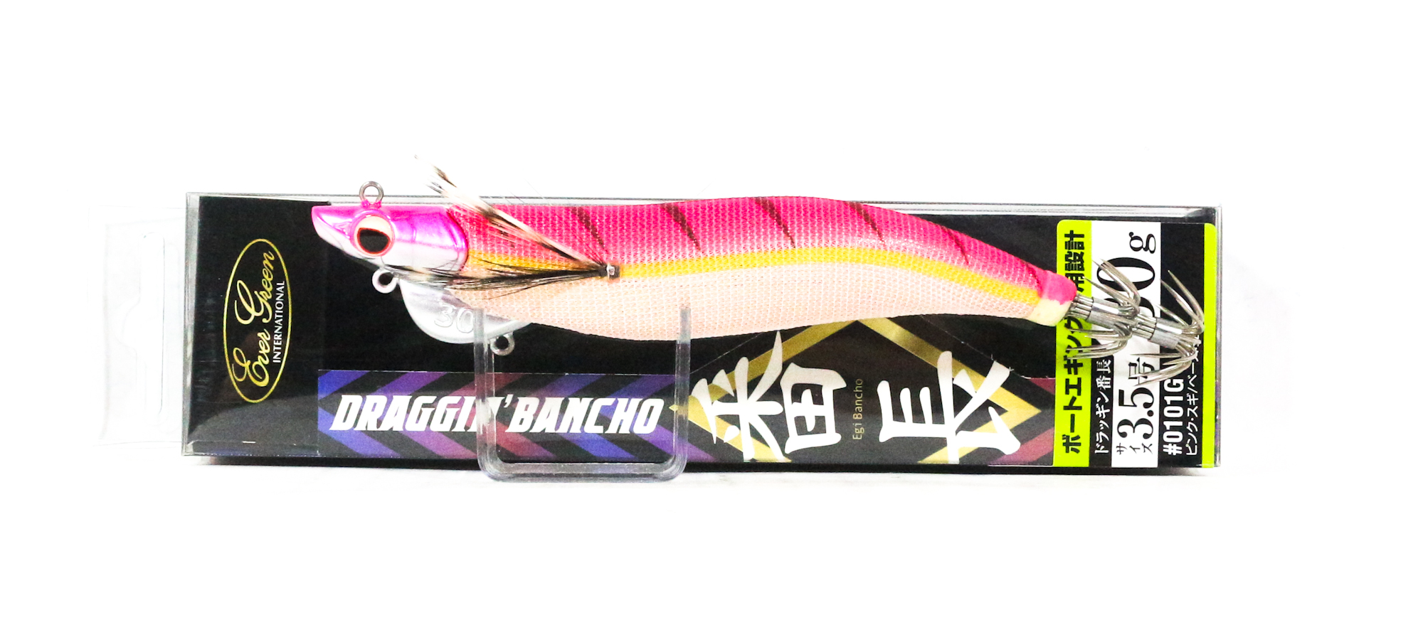 Evergreen Draggin Bancho Squid Jig Lure 3.5 30 grams 0101G (0497)