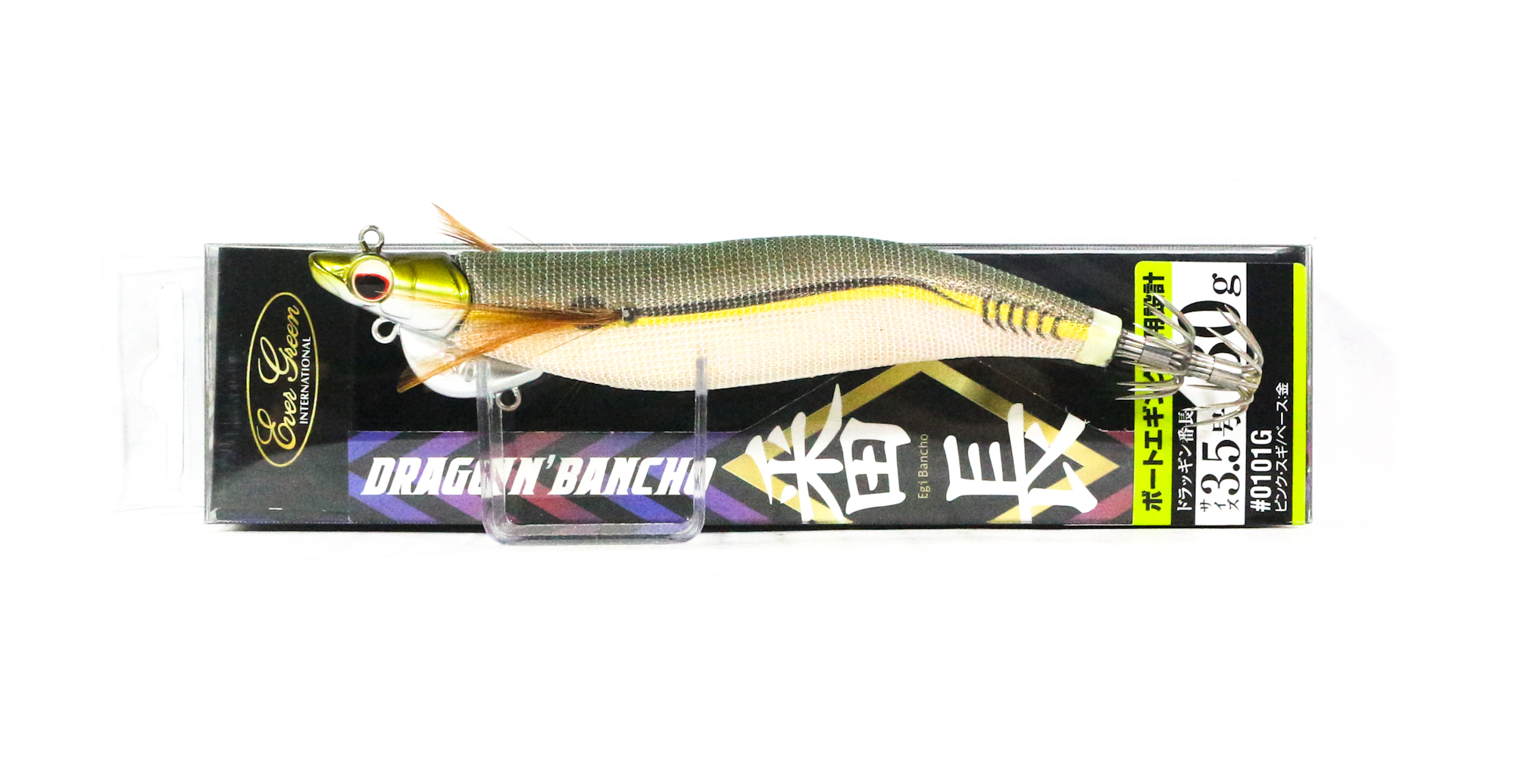 Evergreen Draggin Bancho Squid Jig Lure 3.5 30 grams 0401G (0510)