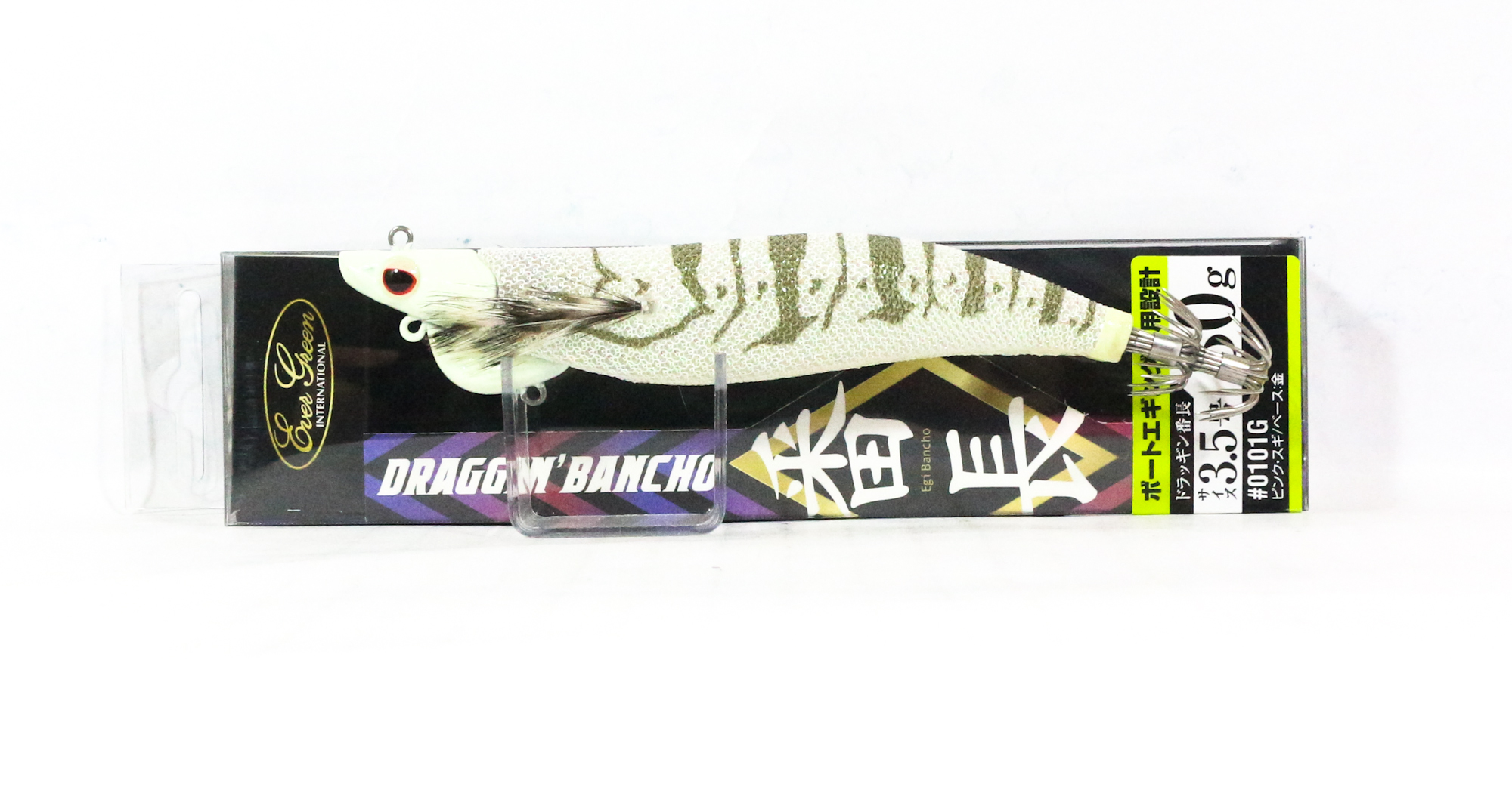 Evergreen Draggin Bancho Squid Jig Lure 3.5 30 grams 1501GL (0558)