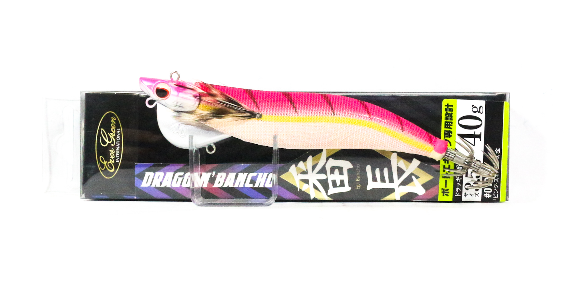 Evergreen Draggin Bancho Squid Jig Lure 3.5 40 grams 0101G (0565)
