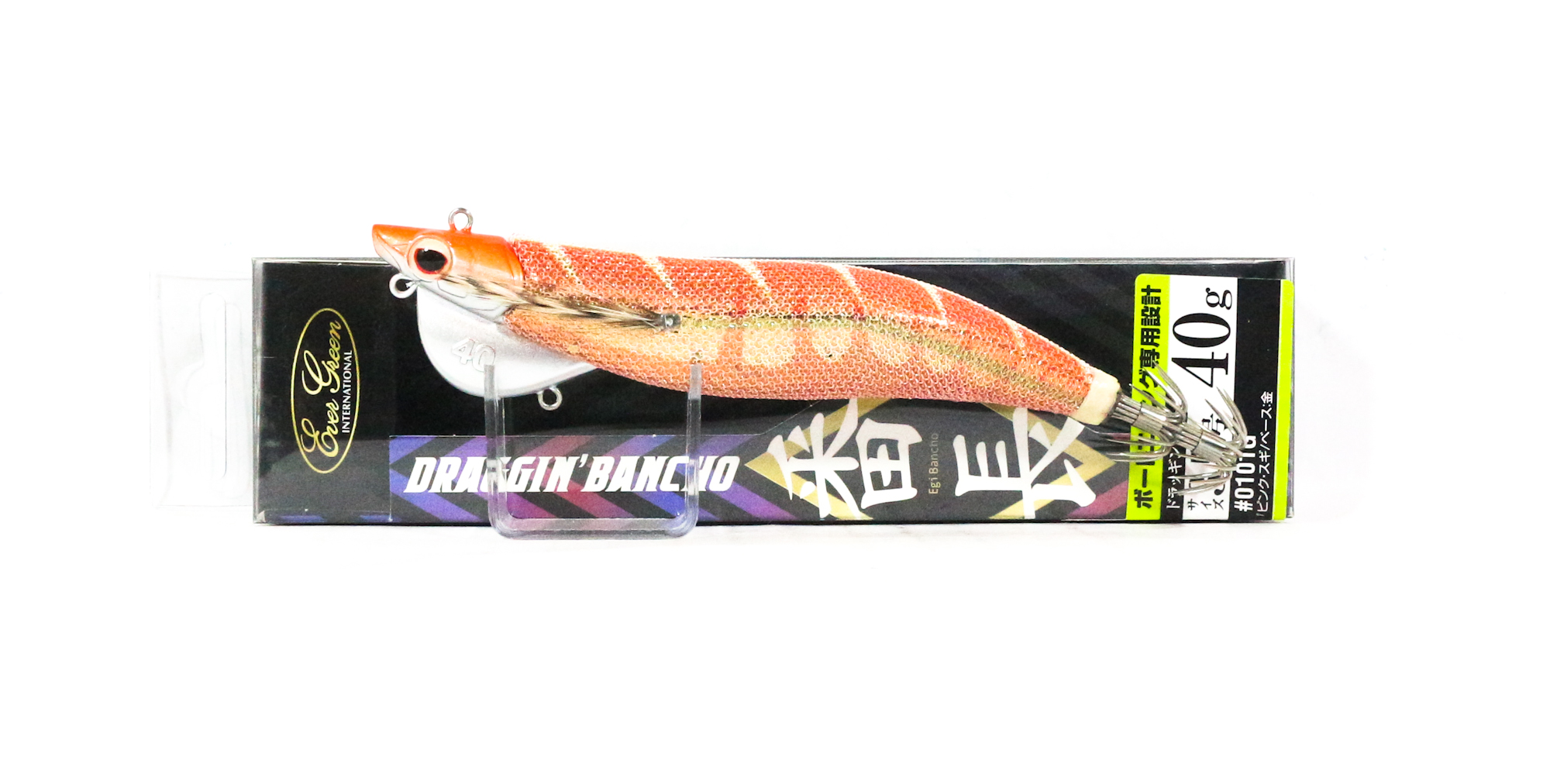 Evergreen Draggin Bancho Squid Jig Lure 3.5 40 grams 0218G (0572)