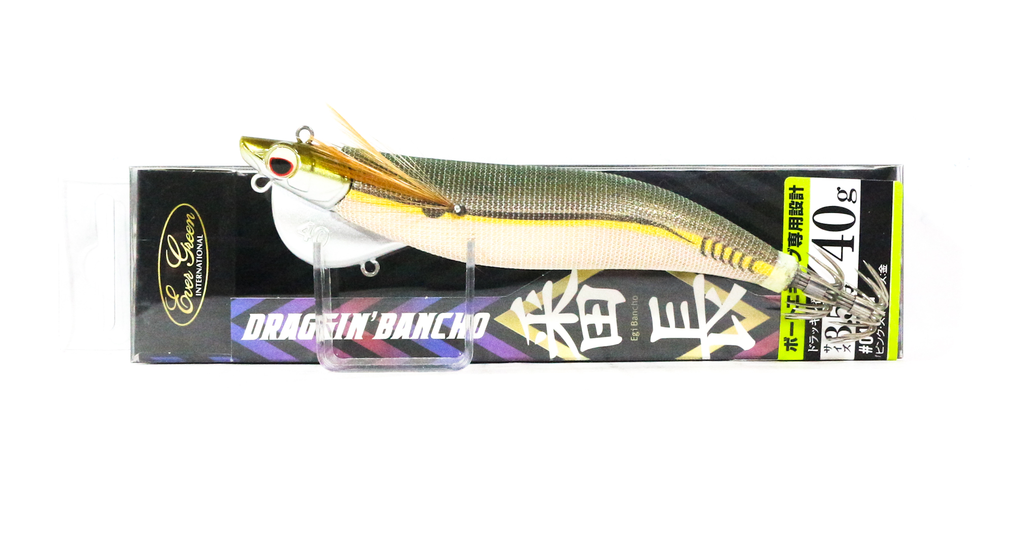 Evergreen Draggin Bancho Squid Jig Lure 3.5 40 grams 0401G (0589)
