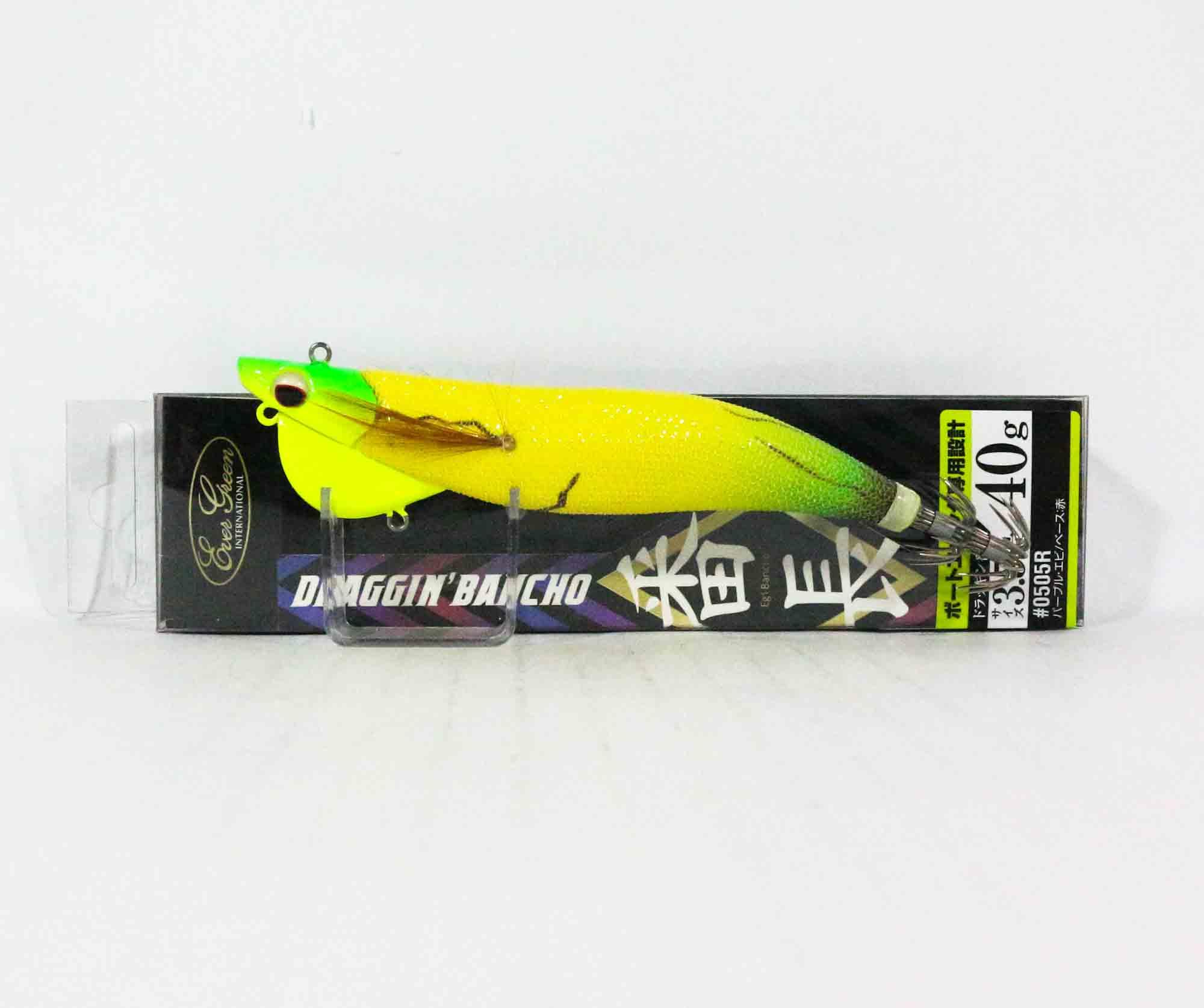 Evergreen Draggin Bancho Squid Jig Lure 3.5 40 grams 0801Y (0619)