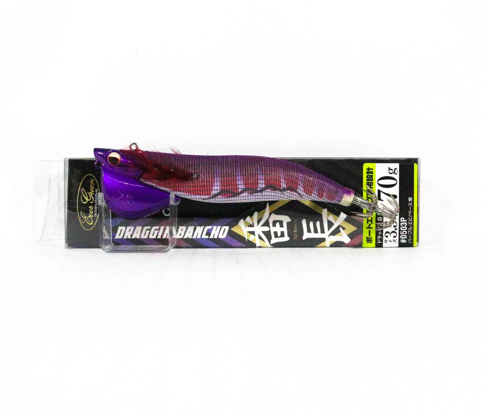 Evergreen Draggin Bancho Squid Jig Lure 3.5 70 grams 0503P (0770)