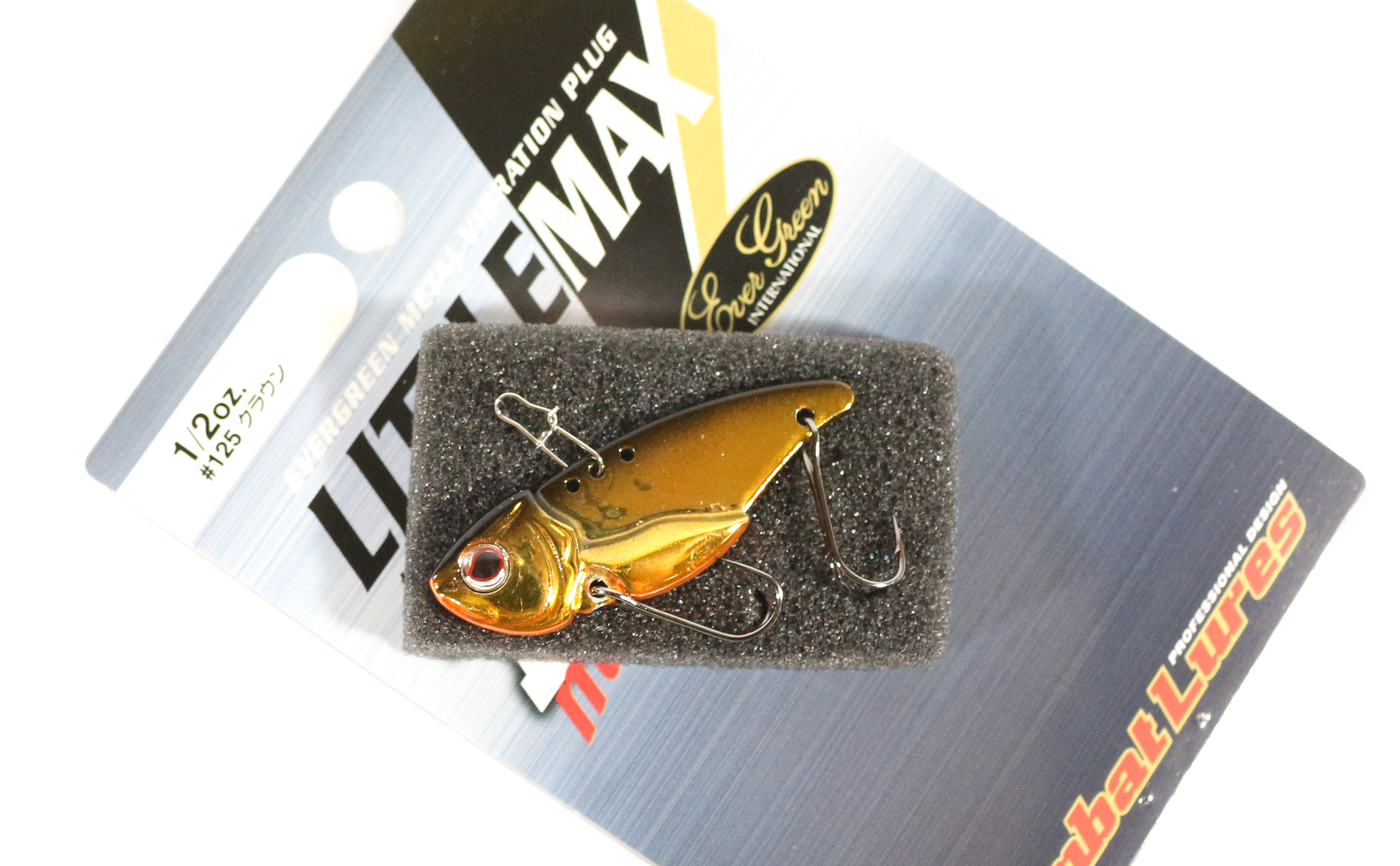 Sale Evergreen Little Max TG Muscle Metal Vibration 1/2 oz Lure 25 (0720)