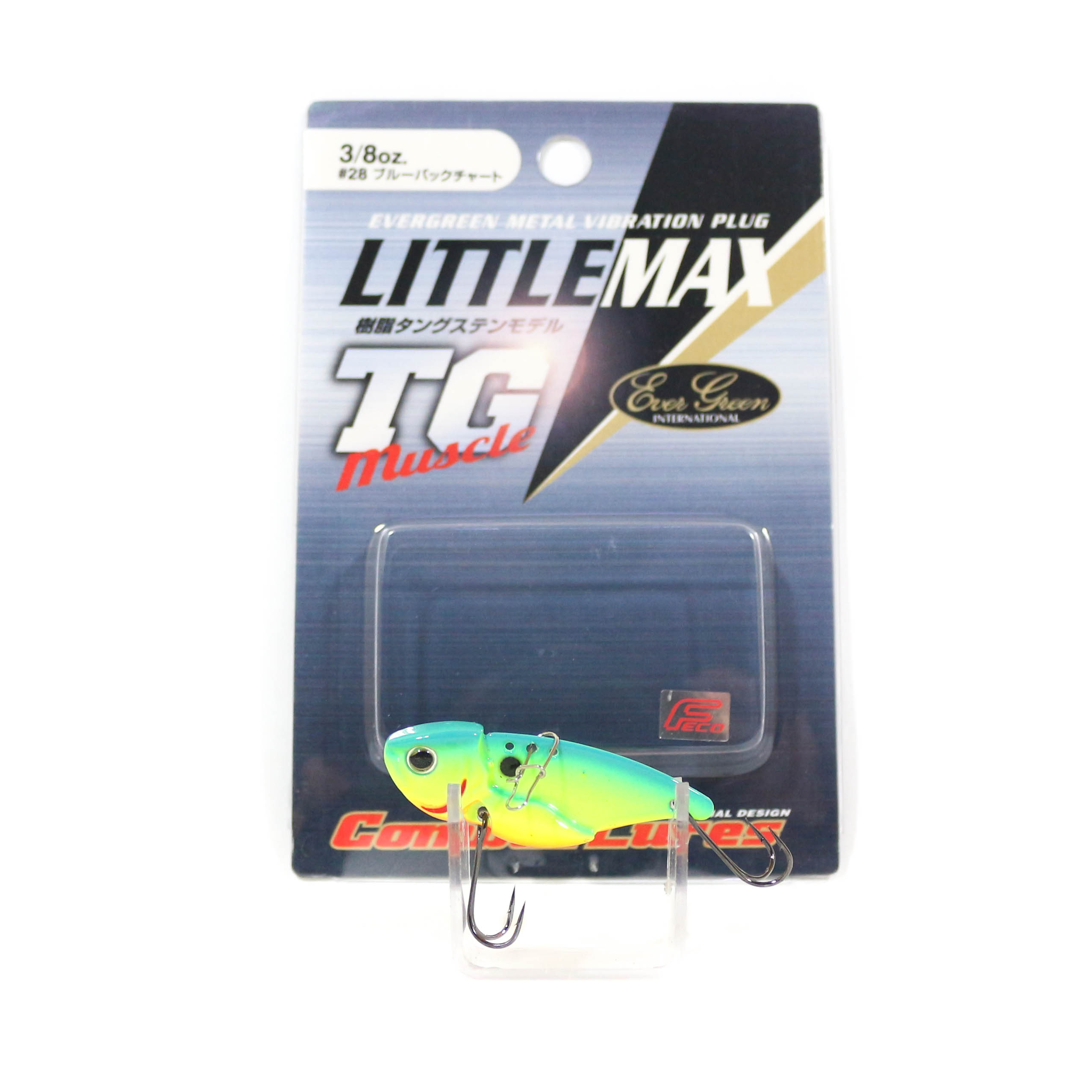 Sale Evergreen Little Max TG Muscle Metal Vibration 3/8 oz Lure 28 (0621)