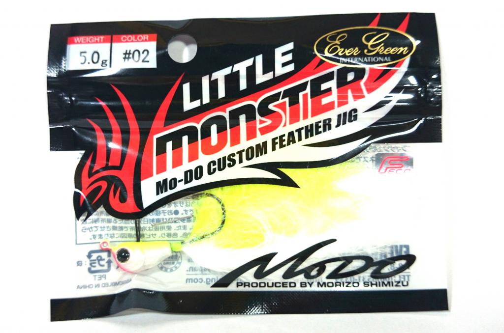 Evergreen Little Monster Modo Feather Jig Head 5 grams 02 (9497)