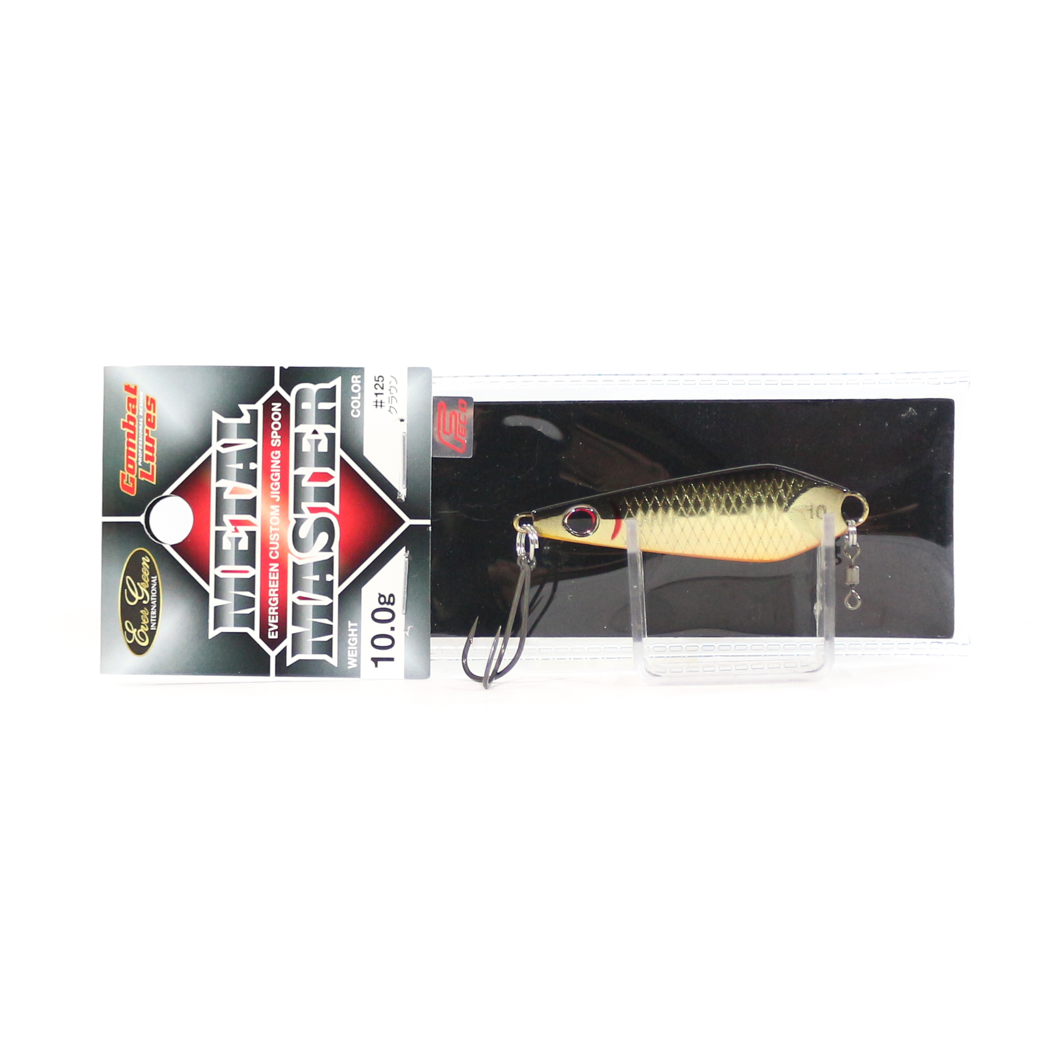 Evergreen Metal Master Custom Jigging Spoon 10 grams 25 (5966)