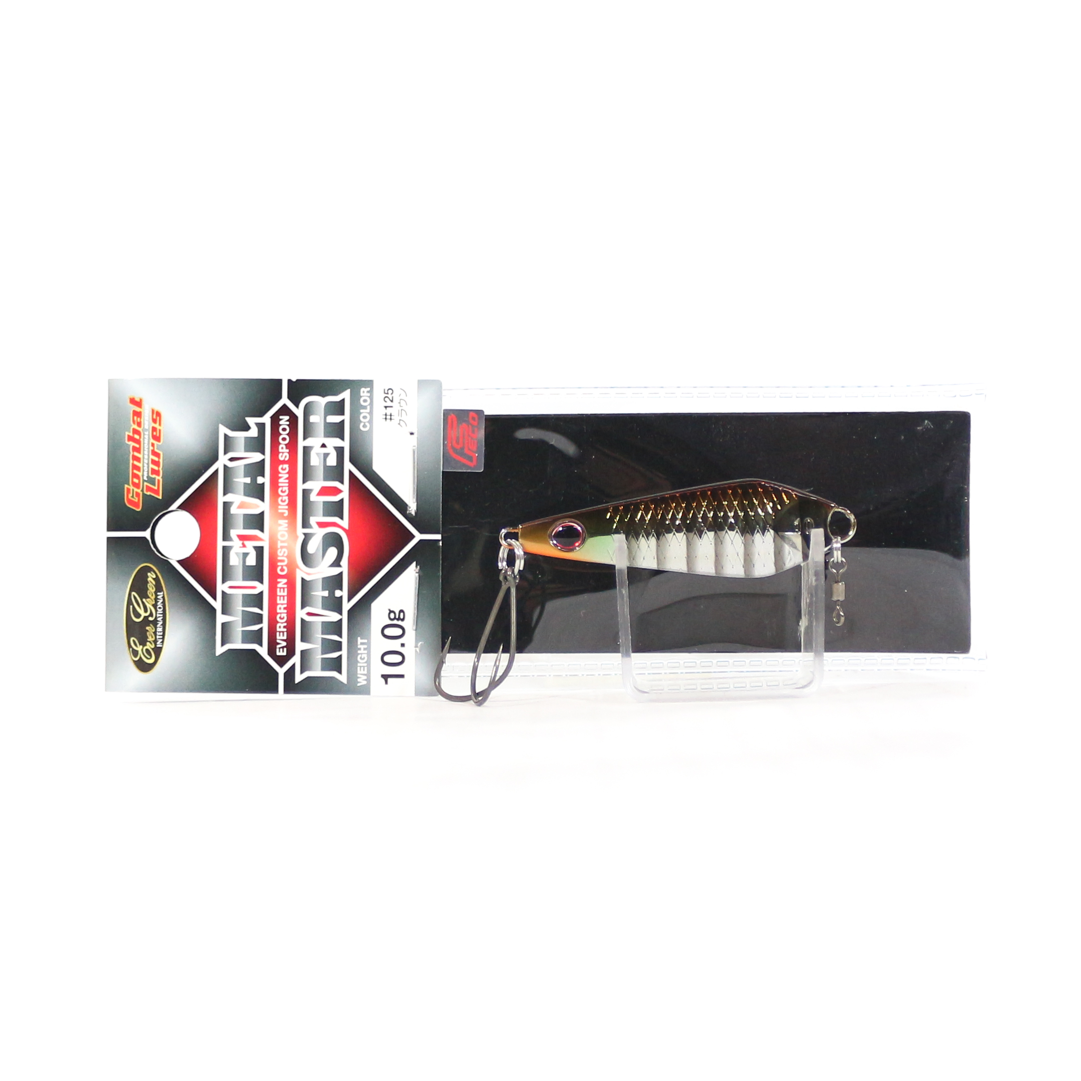 Evergreen Metal Master Custom Jigging Spoon 10 grams 145 (6000)