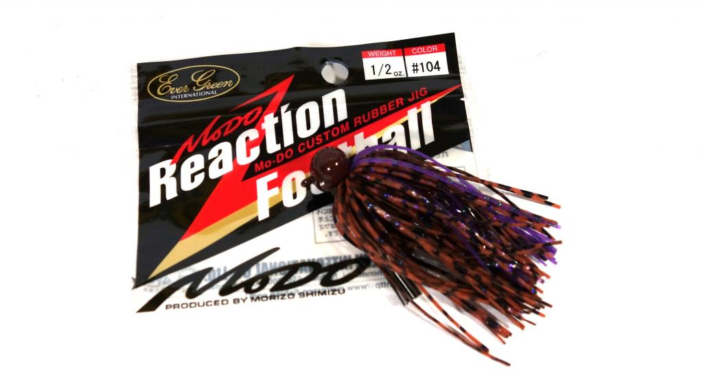 Evergreen Reaction Football Casting Jig 1/2 oz 104 (2330)