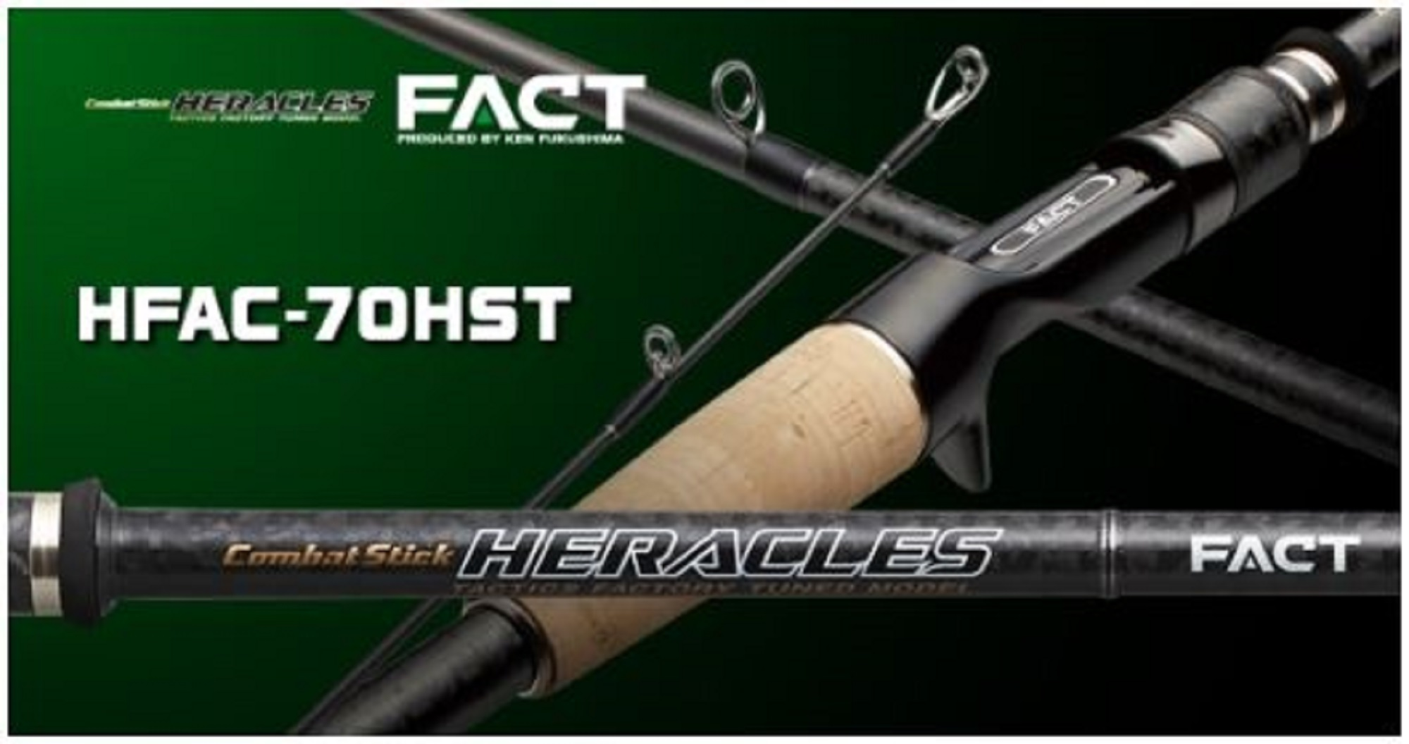 Evergreen Rod Baitcast Heracles Fact HFAC 70 HST (5603)