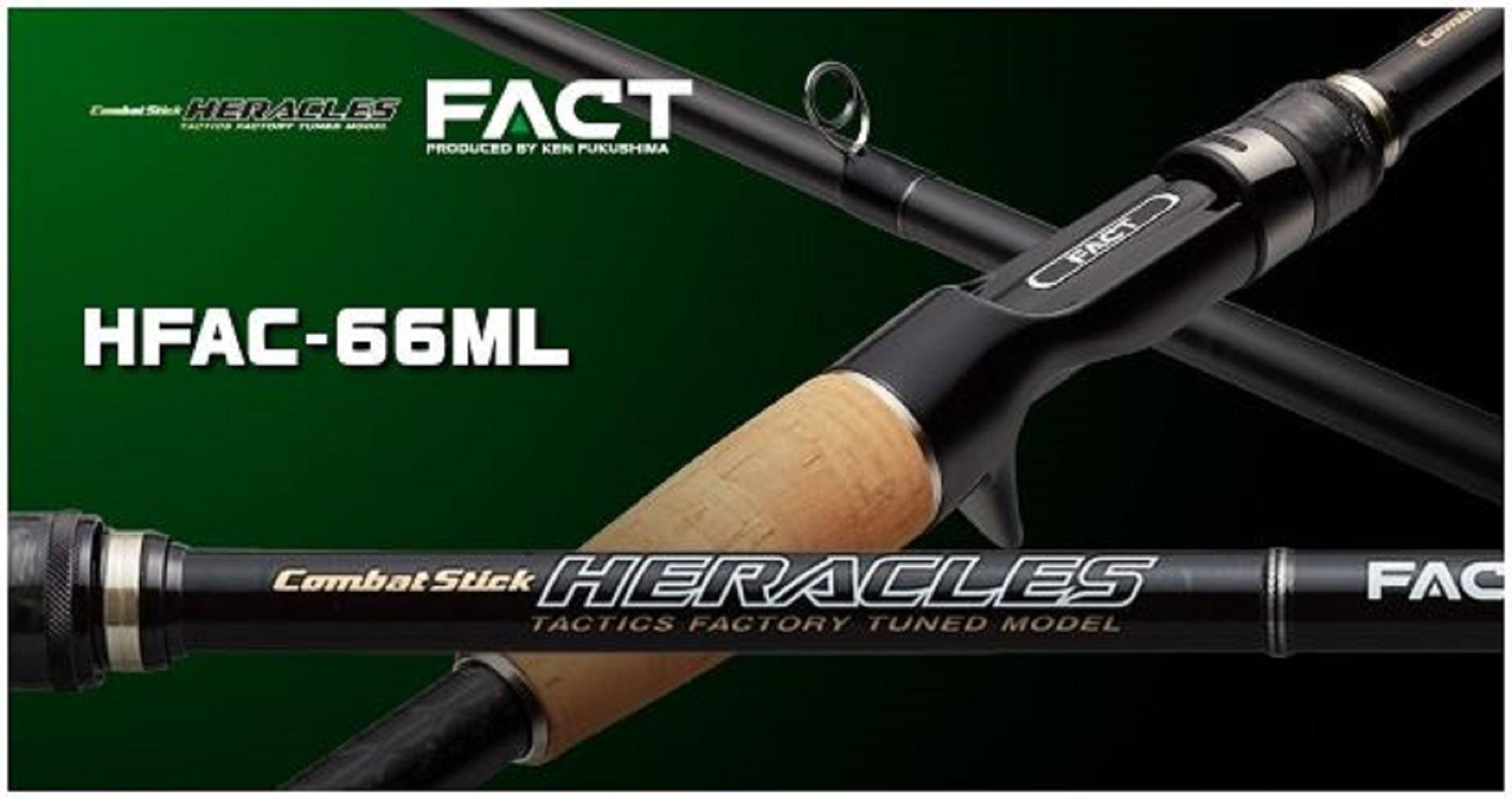 Evergreen Rod Baitcast Heracles Fact HFAC 66 ML (4181)