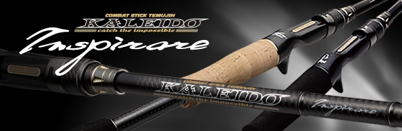 Evergreen Rod Baitcast Inspirare TKIC 610 H BK The