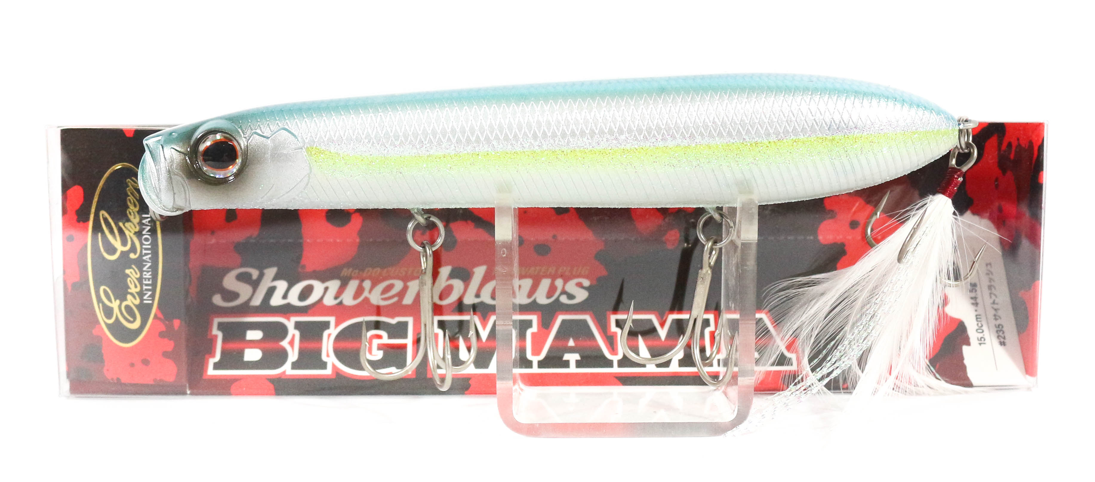 Evergreen Shower Blows Big Mama 150mm Pencil Floating Lure 239 (4335)