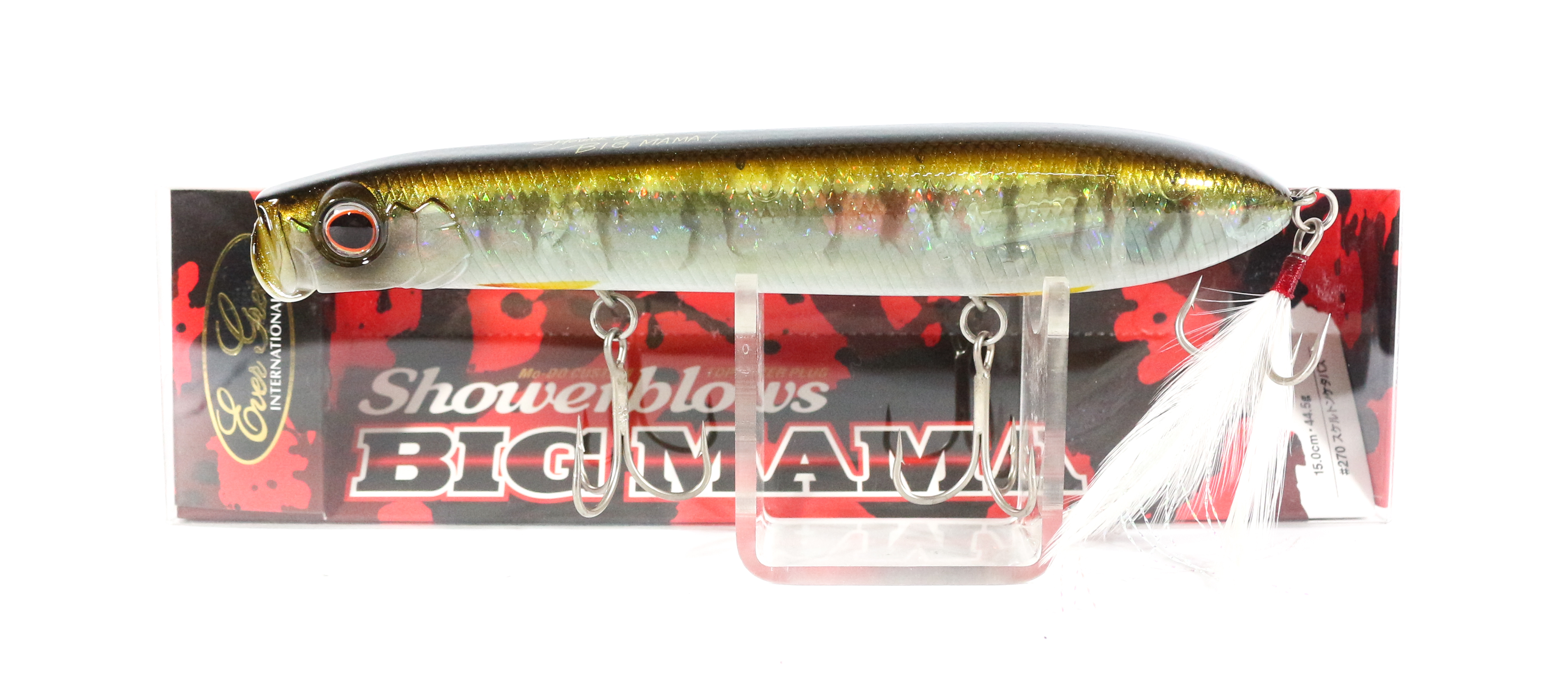 Evergreen Shower Blows Big Mama 150mm Pencil Floating Lure 270 (4366)