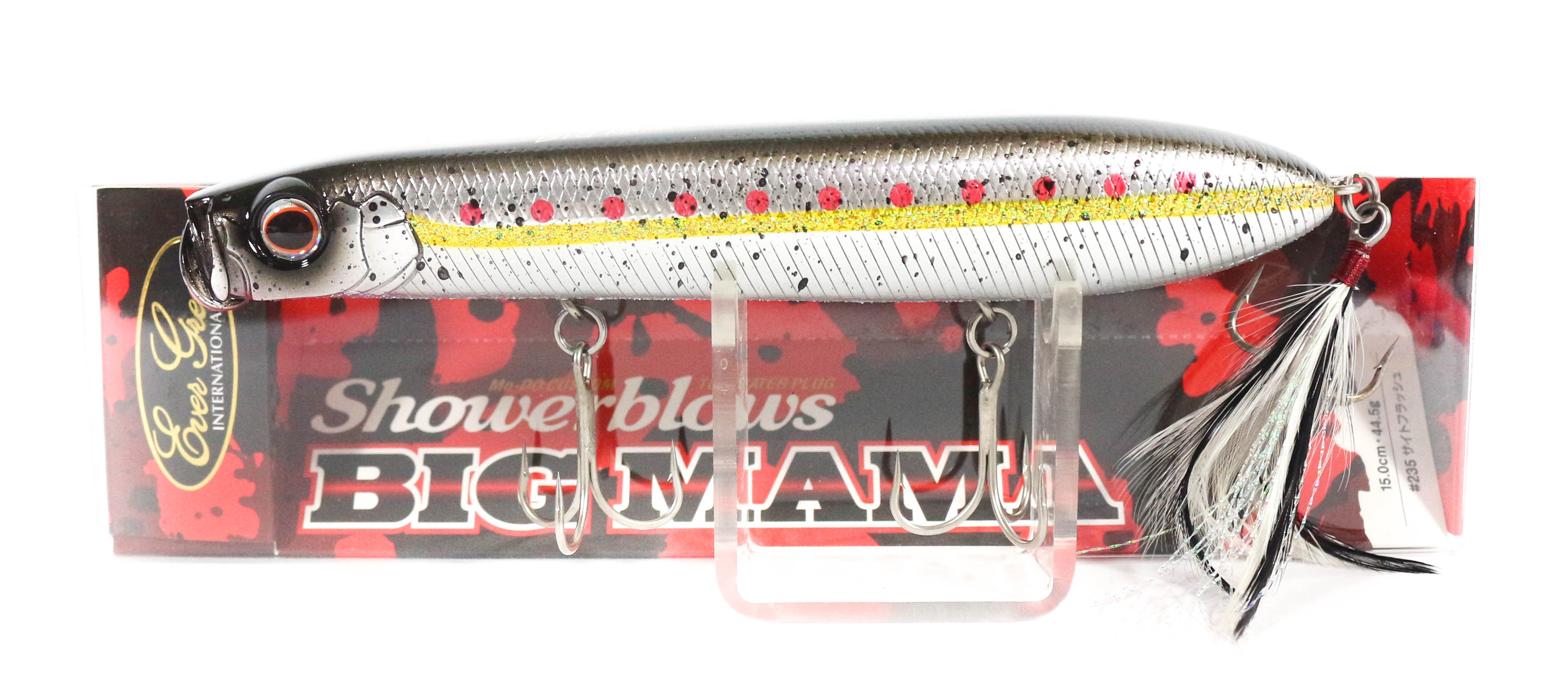 Evergreen Shower Blows Big Mama 150mm Pencil Floating Lure 358 (4397)