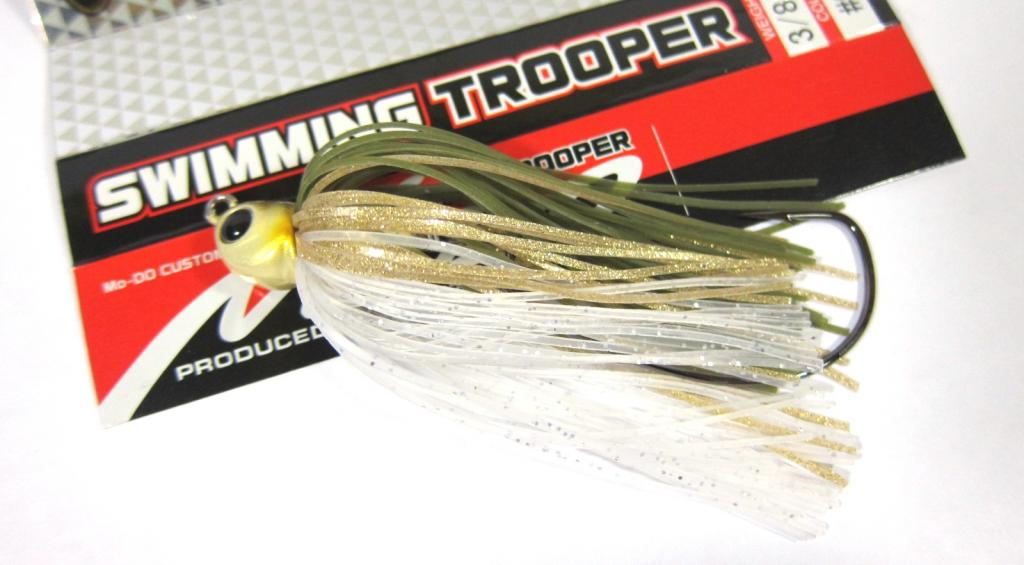Evergreen Swimming Trooper Rubber Jig 1/4 oz Sinking Lure 01 (9565)