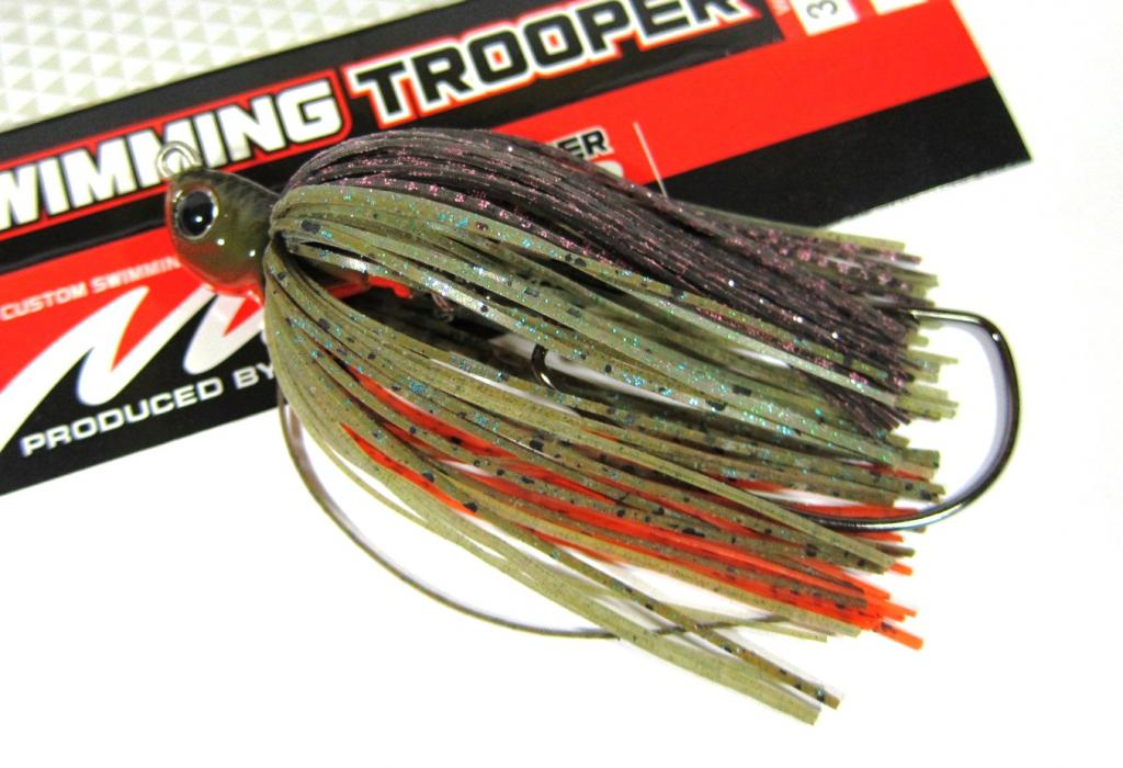 Evergreen Swimming Trooper Rubber Jig 1/4 oz Sinking Lure 36 (9640)