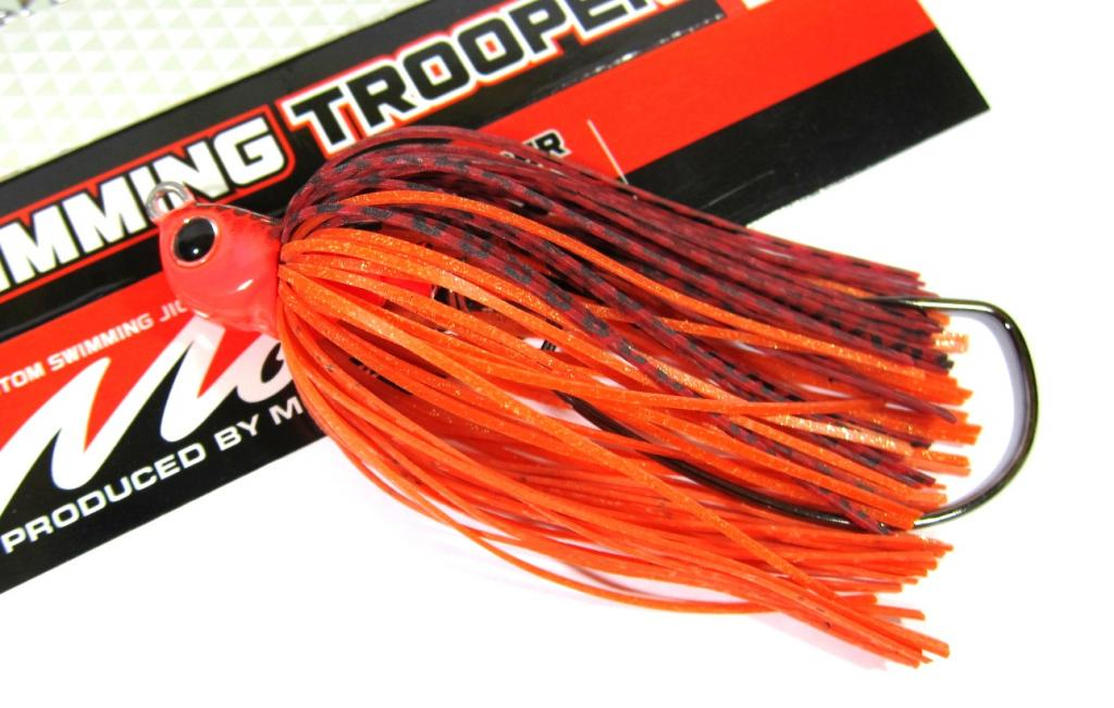 Evergreen Swimming Trooper Rubber Jig 3/8 oz Sinking Lure 08 (9695)