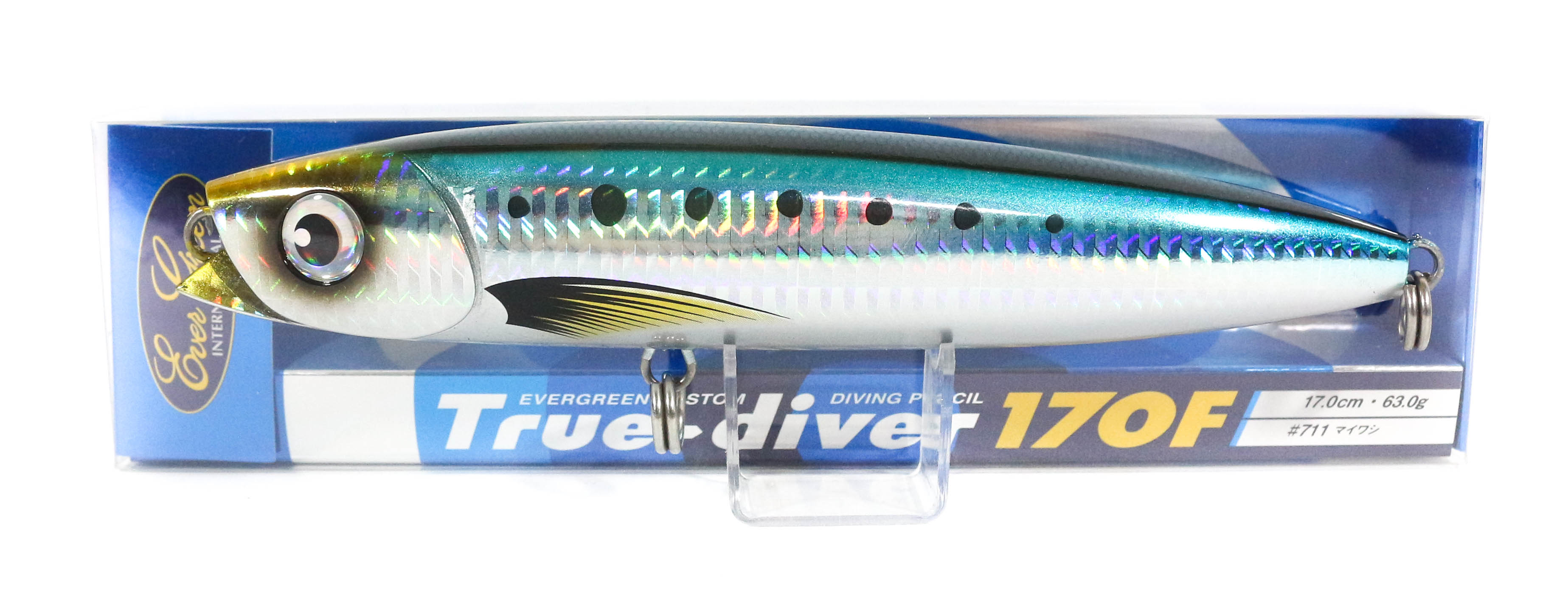 Sale Evergreen True Diver 170F Pencil 63 gram Floating Lure 711 (8184)