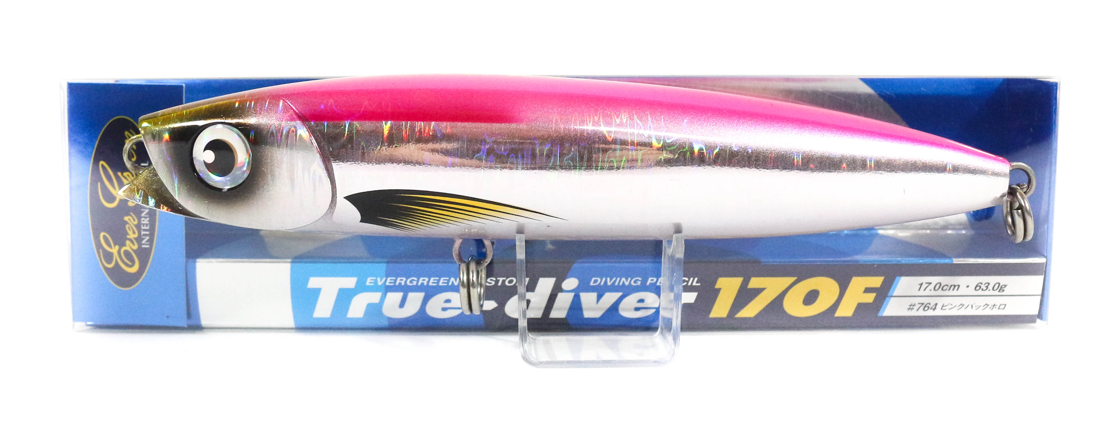Sale Evergreen True Diver 170F Pencil 63 gram Floating Lure 764 (8191)