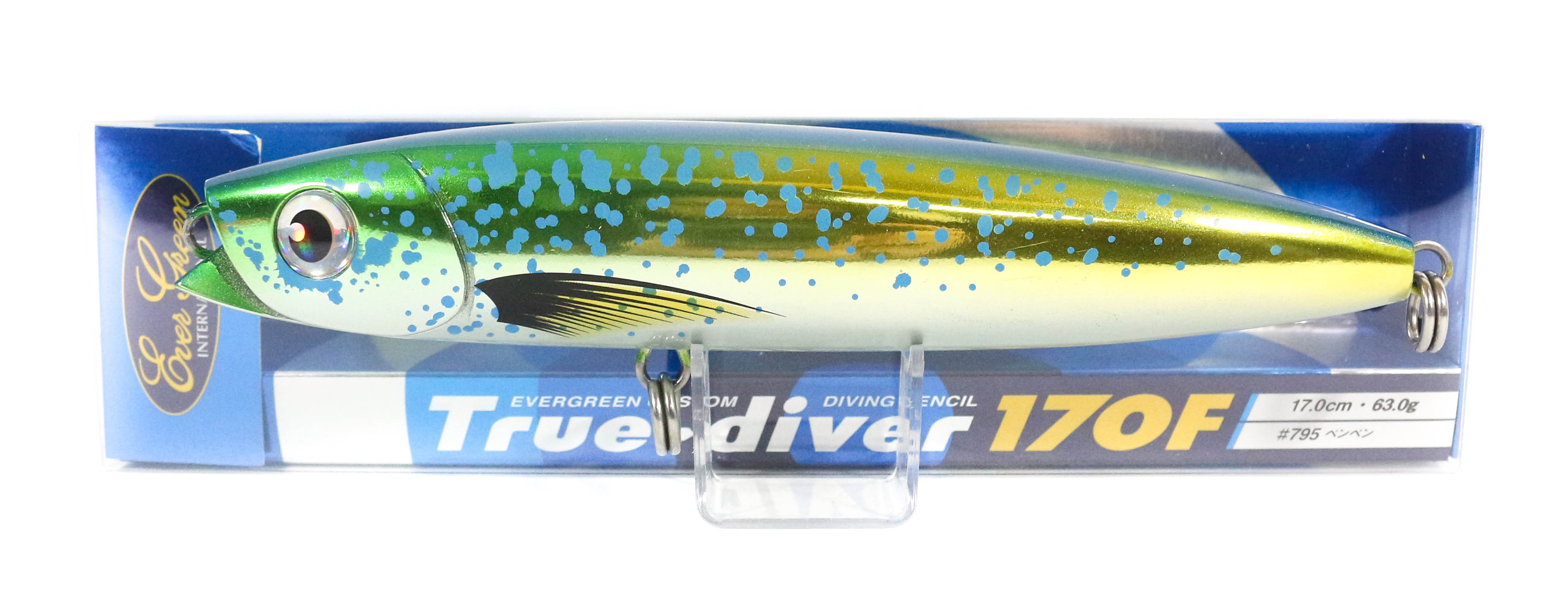 Sale Evergreen True Diver 170F Pencil 63 gram Floating Lure 795 (8245)