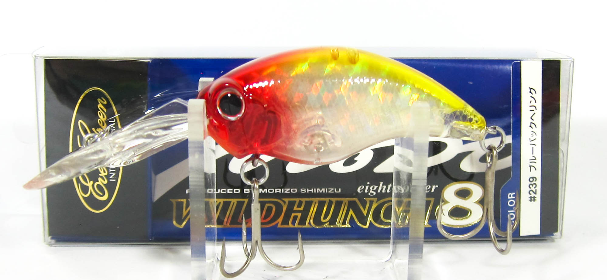 Evergreen Combat Crank Wild Hunch Eight Footer Floating Lure 66 (5122)