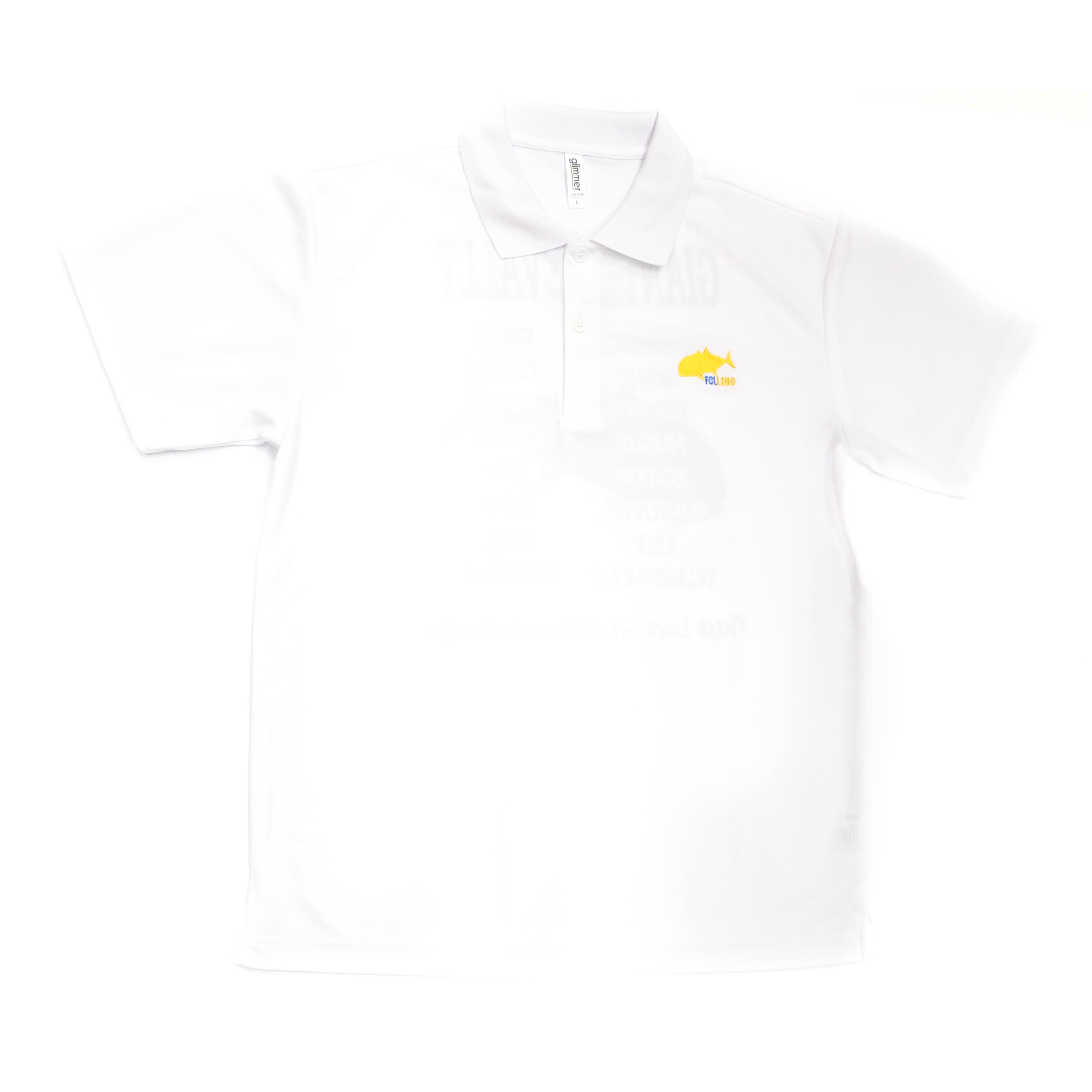 FCL Labo Polo Shirt Short Sleeve GT Size L White (4533)