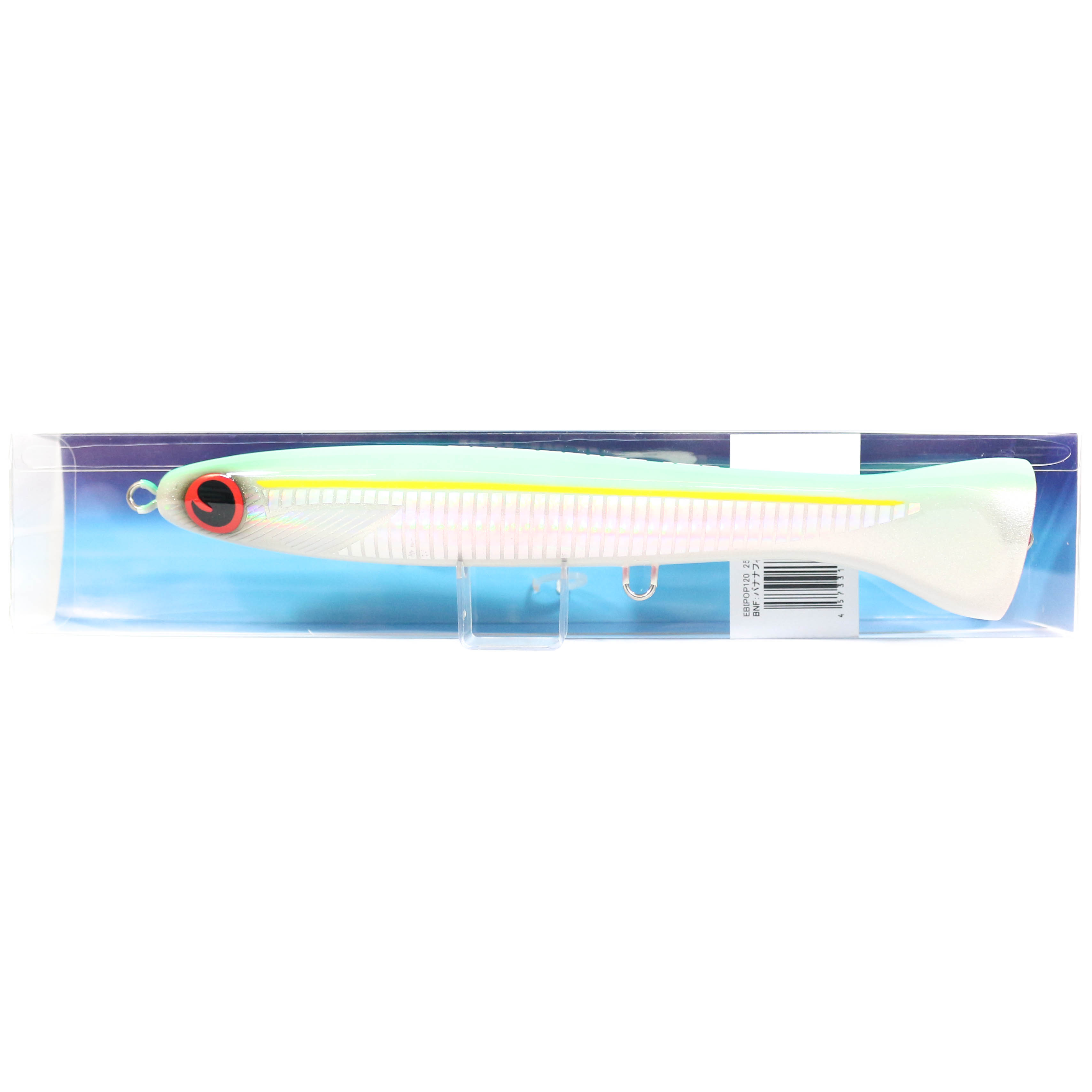 FCL Labo Popper Ebi Pop 120F Floating Lure 130 grams BNF (3703)