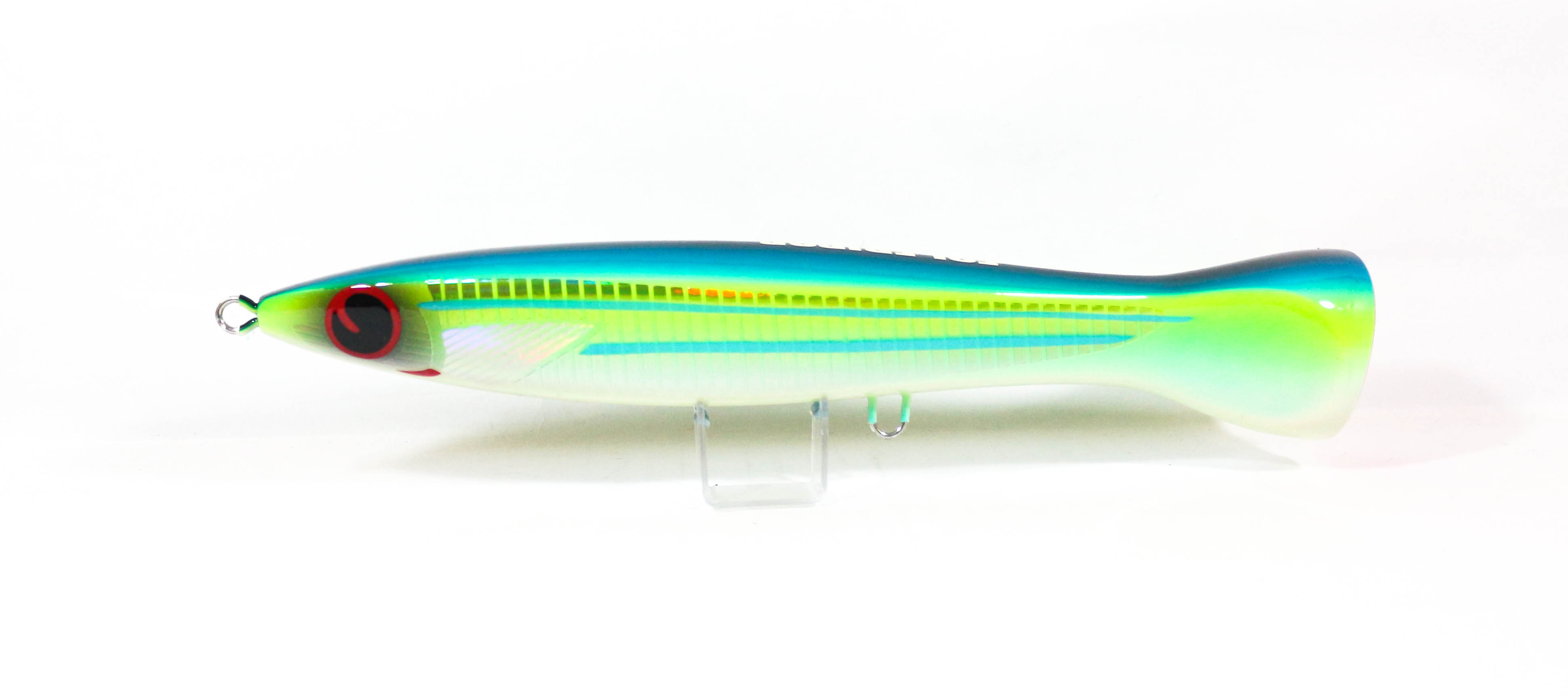 FCL Labo Popper Ebi Pop 140F Floating Lure 150 grams Green (1289)