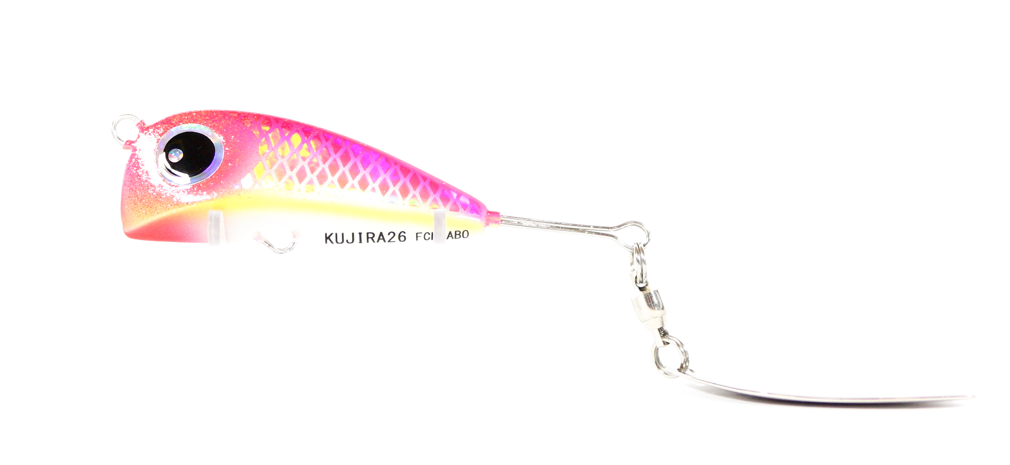 FCL Labo Spinner Tail Madai Jig Kujira 26 Grams Sinking Lure Pink (1093)