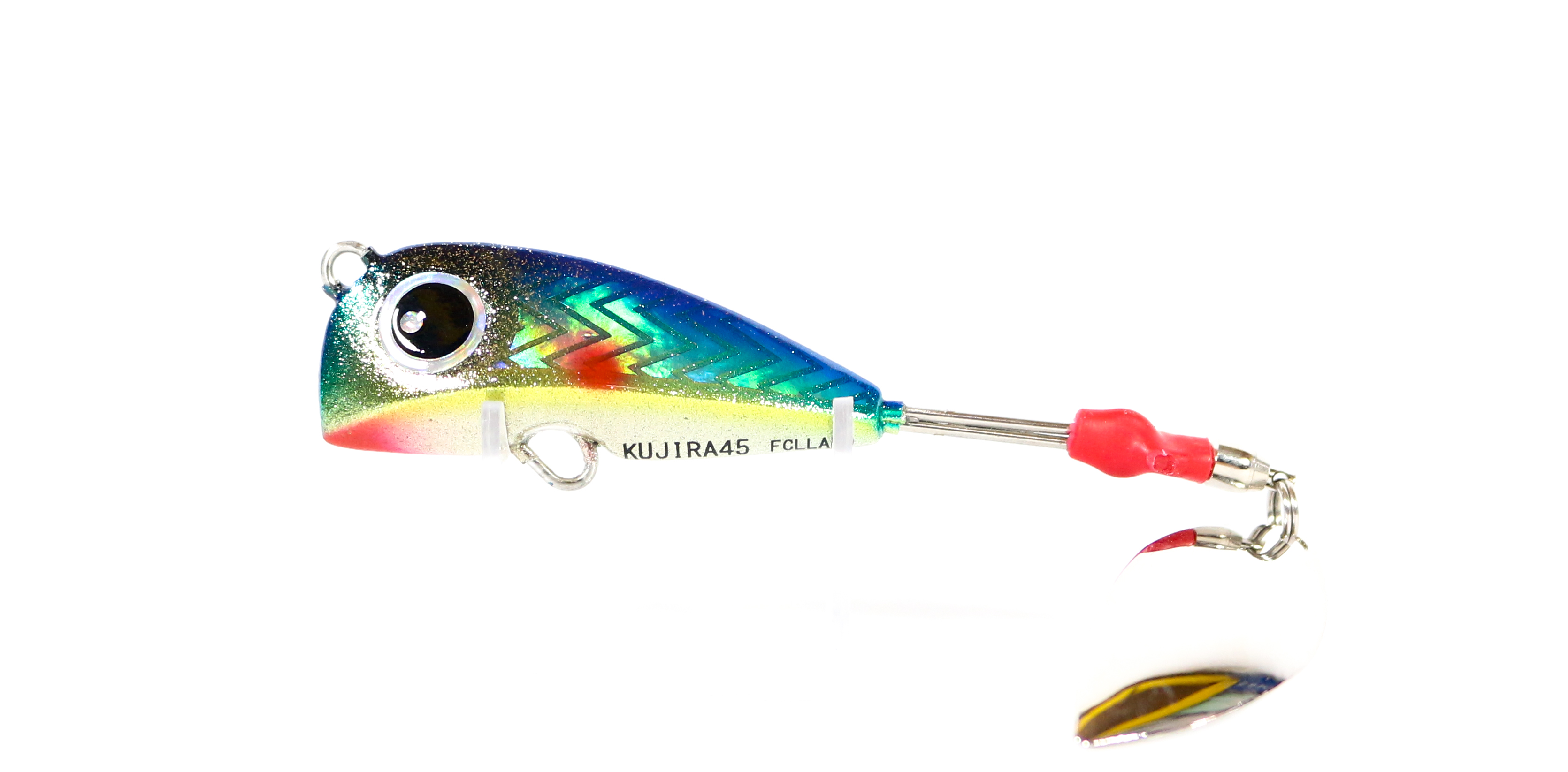 FCL Labo Spinner Tail Madai Jig Kujira 45 Grams Sinking Lure Blue (1100)