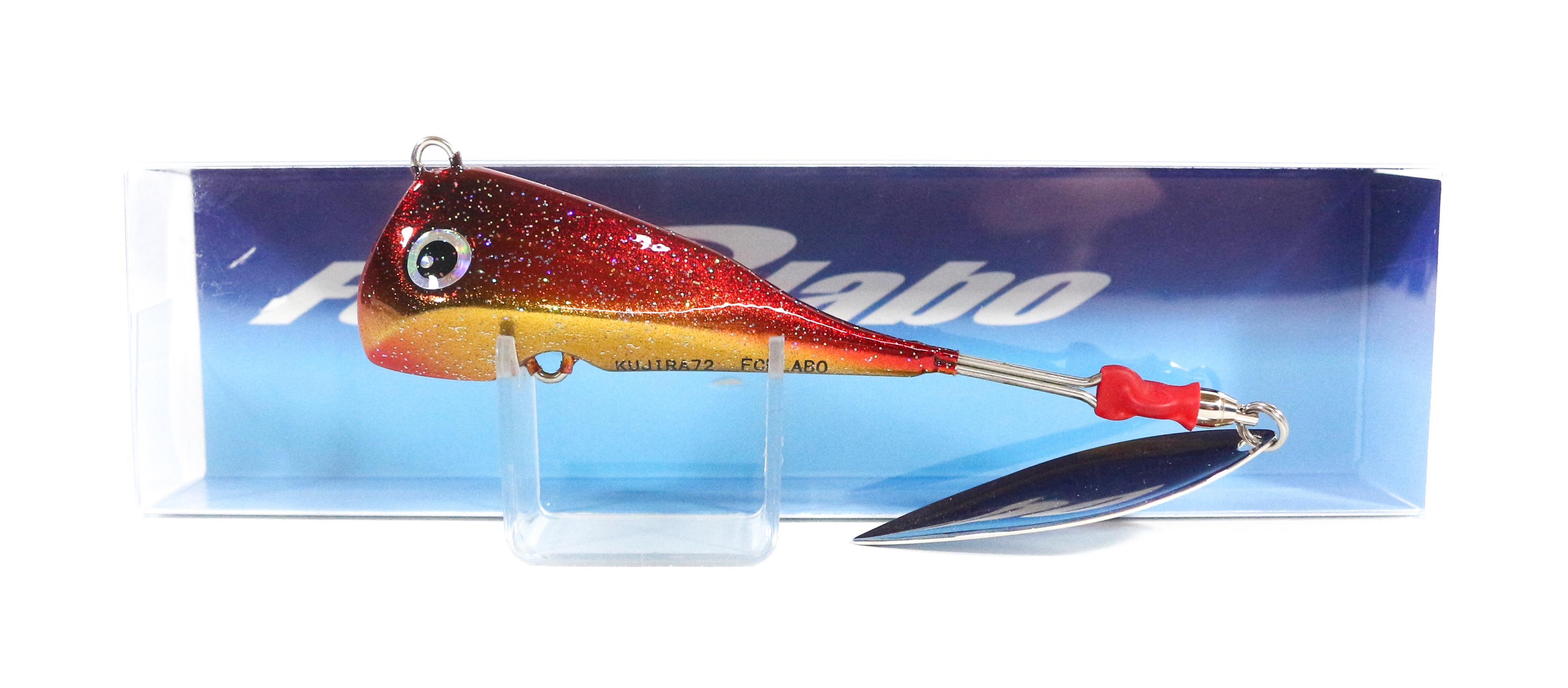 FCL Labo Spinner Tail Madai Jig Kujira 72 grams Sinking Lure PRG (2639)