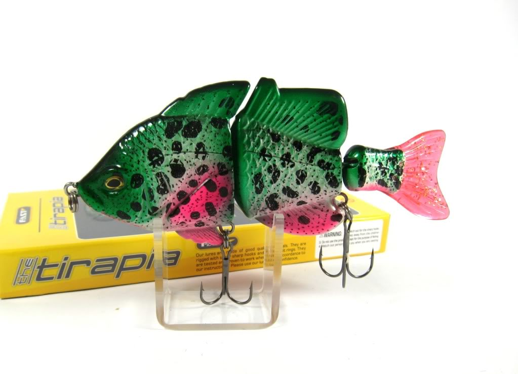 Sale Fast Tirapia Flat Side Jointed Lipless Lure 01 (6001)