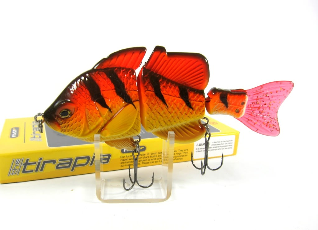Sale Fast Tirapia Flat Side Jointed Lipless Lure 02 (6002)