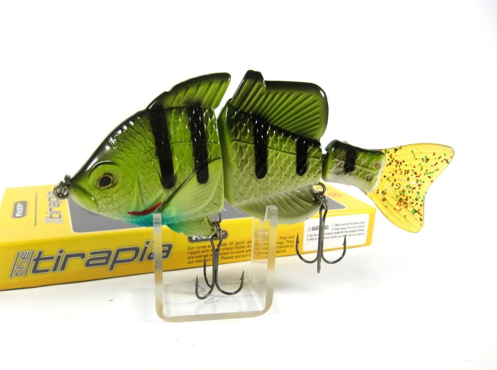Sale Fast Tirapia Flat Side Jointed Lipless Lure 05 (6005)