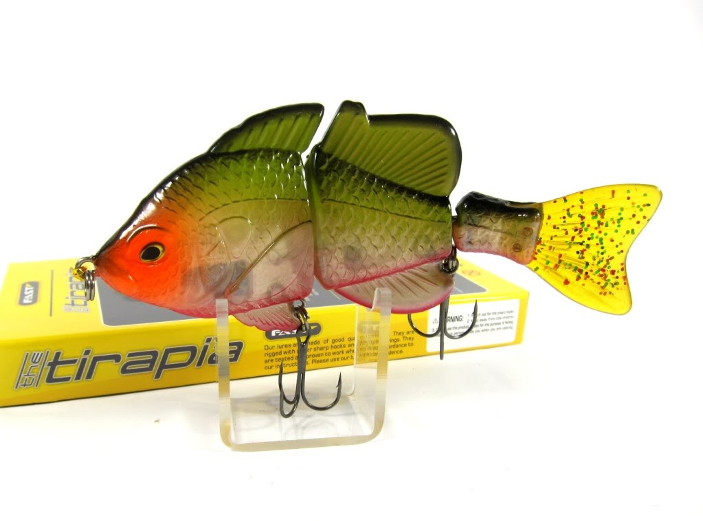 Sale Fast Tirapia Flat Side Jointed Lipless Lure 06 (6006)