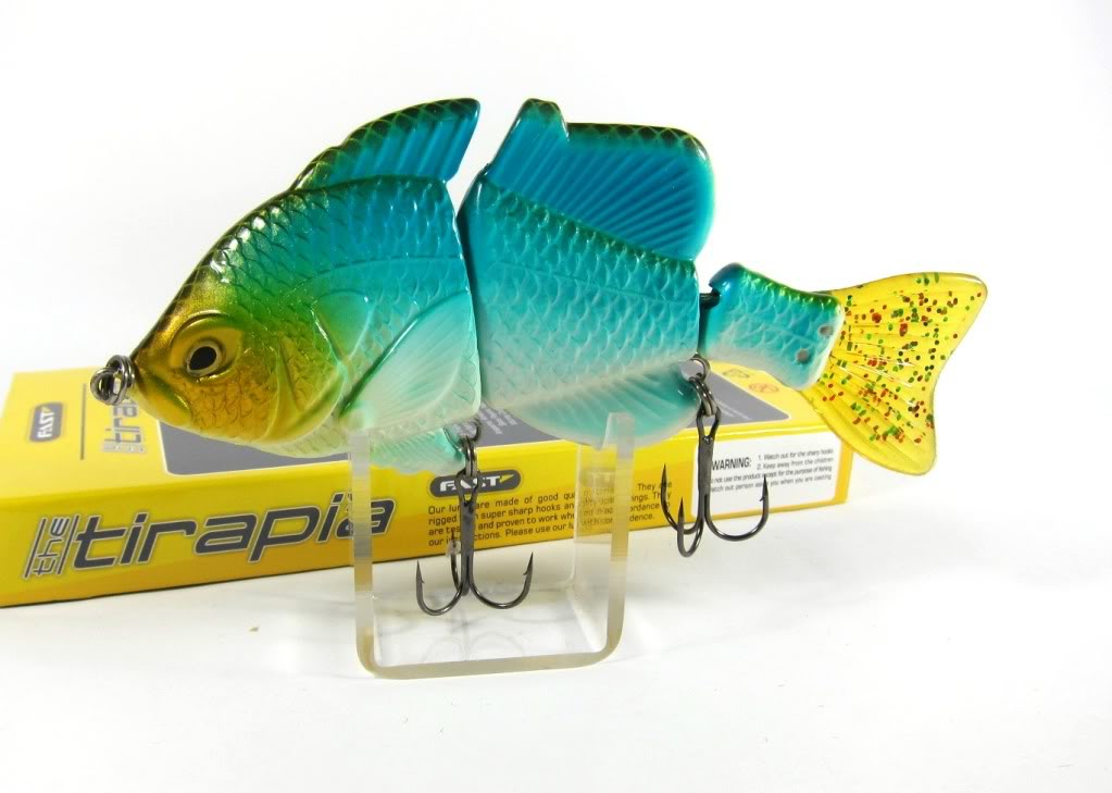 Sale Fast Tirapia Flat Side Jointed Lipless Lure 09 (6009)