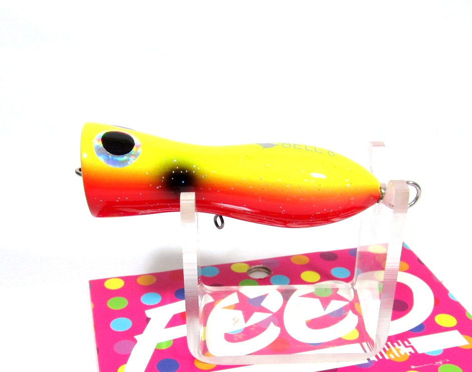 Feed Lures Bell 5 Hand Made Wood Popper Floating Lure 5 grams 17 (5017)